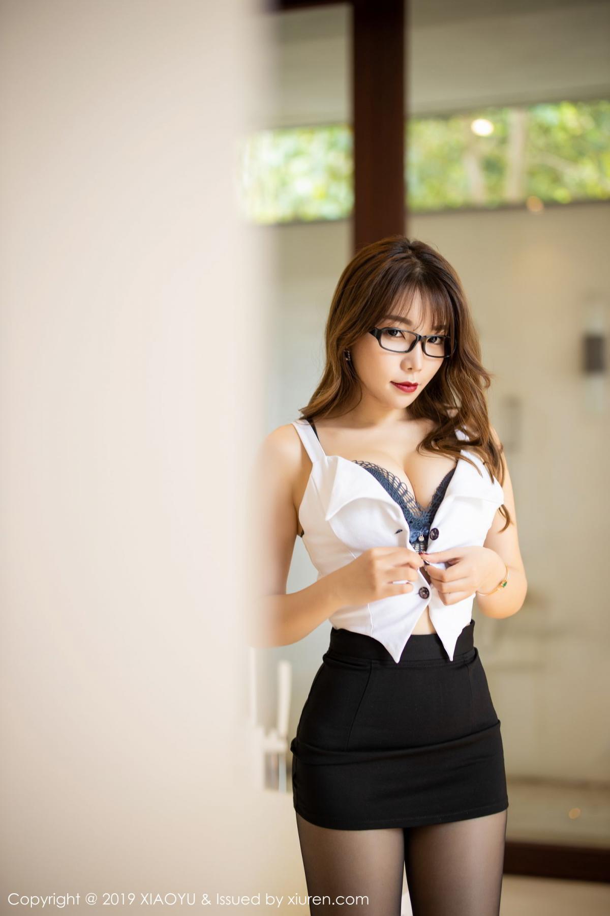 [XiaoYu] Vol.179 Chen Zhi 30P, Black Silk, Chen Zhi, Sexy, Tall, XiaoYu