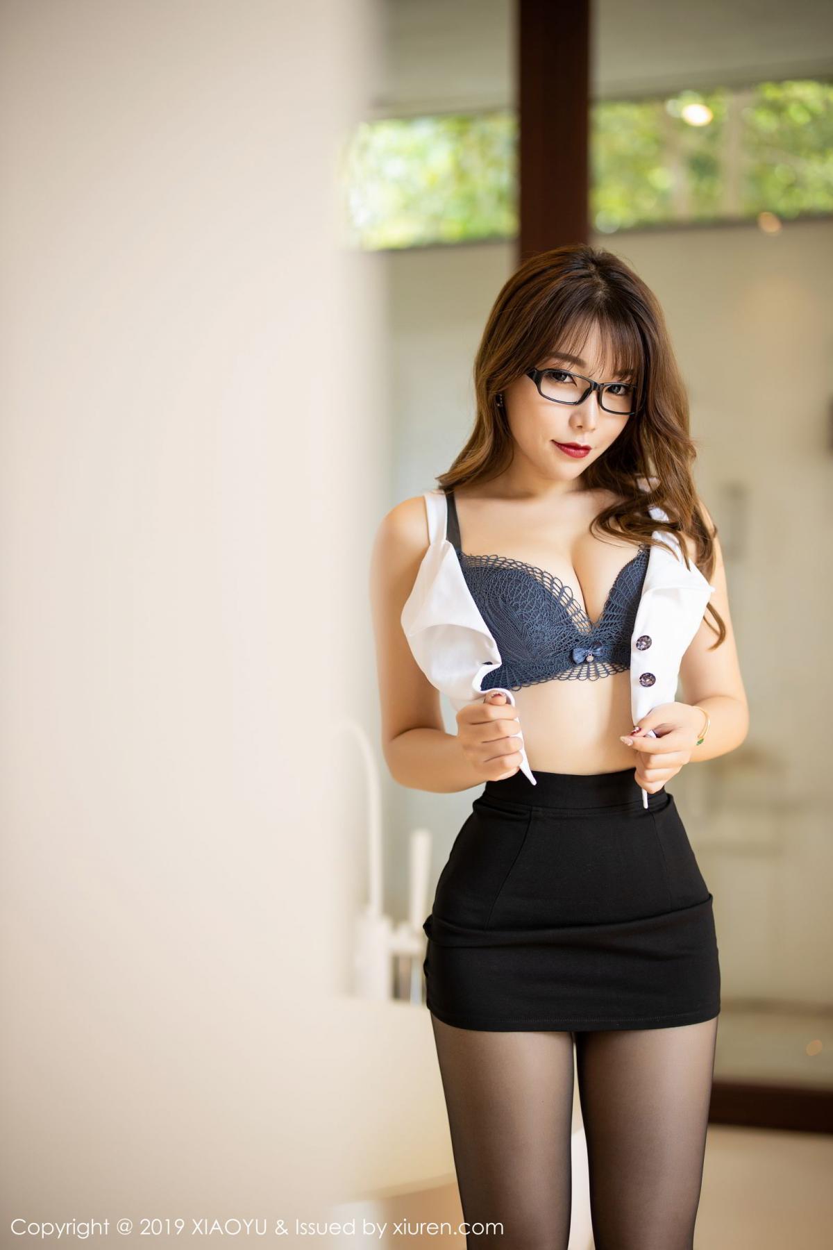 [XiaoYu] Vol.179 Chen Zhi 31P, Black Silk, Chen Zhi, Sexy, Tall, XiaoYu