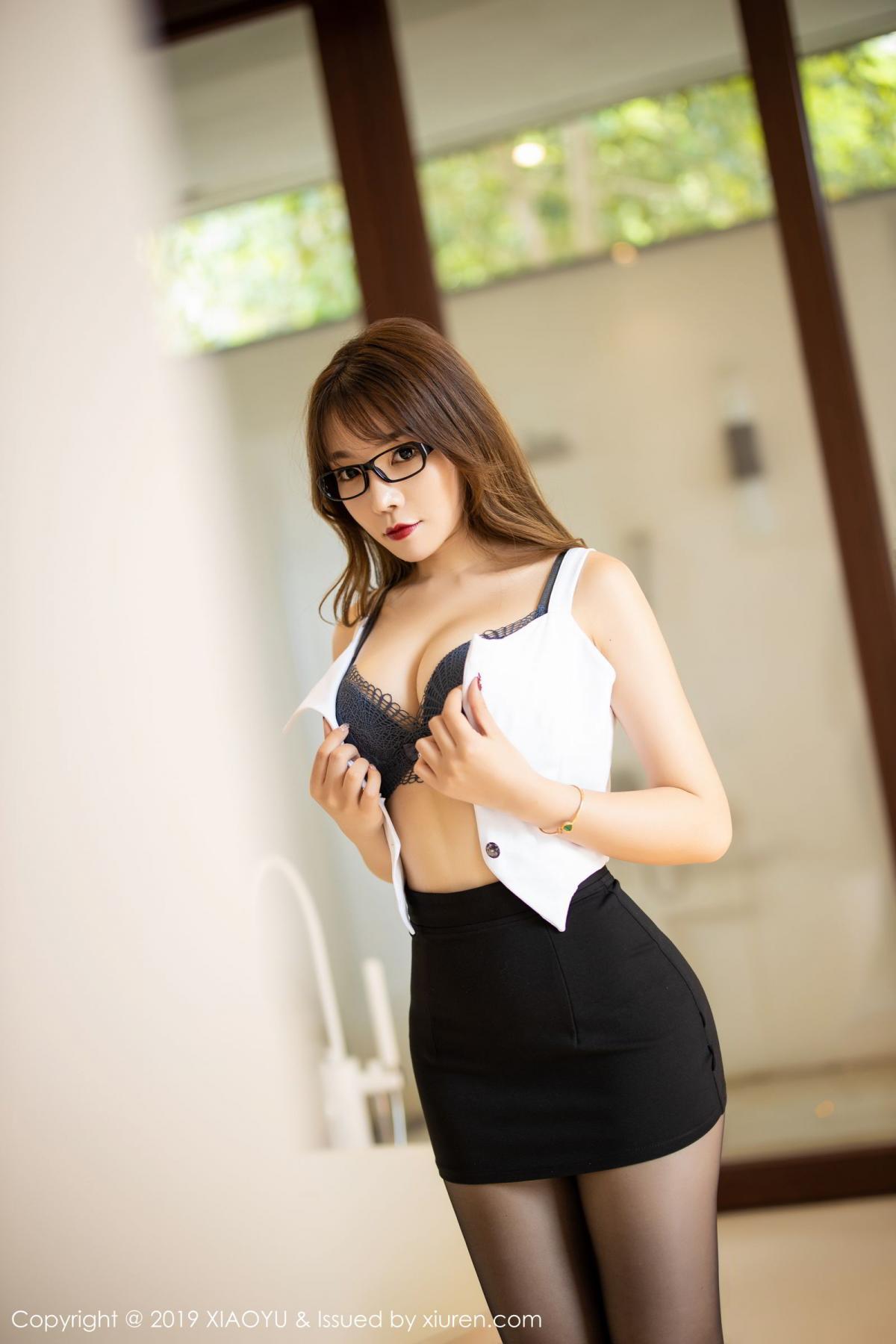 [XiaoYu] Vol.179 Chen Zhi 32P, Black Silk, Chen Zhi, Sexy, Tall, XiaoYu