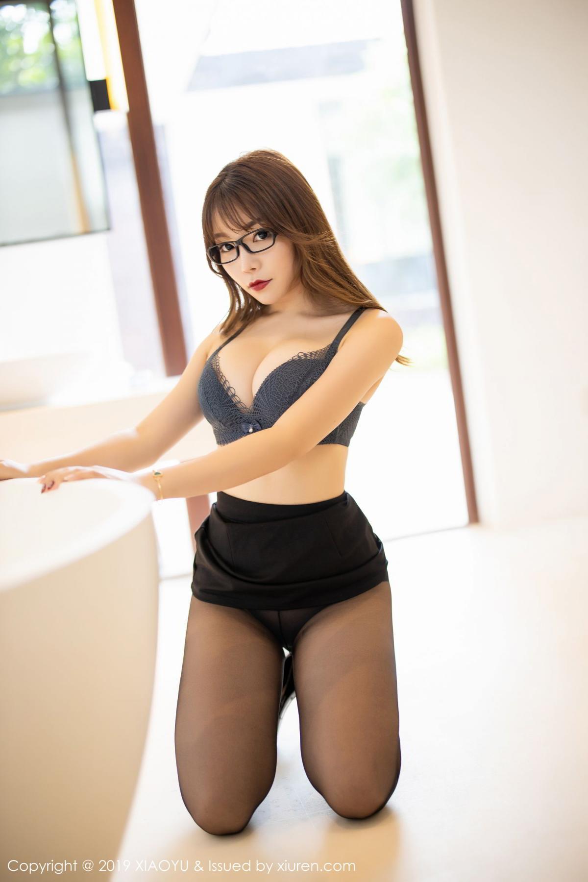 [XiaoYu] Vol.179 Chen Zhi 37P, Black Silk, Chen Zhi, Sexy, Tall, XiaoYu