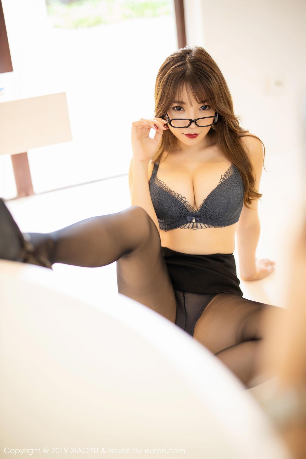 [XiaoYu] Vol.179 Chen Zhi 43P, Black Silk, Chen Zhi, Sexy, Tall, XiaoYu