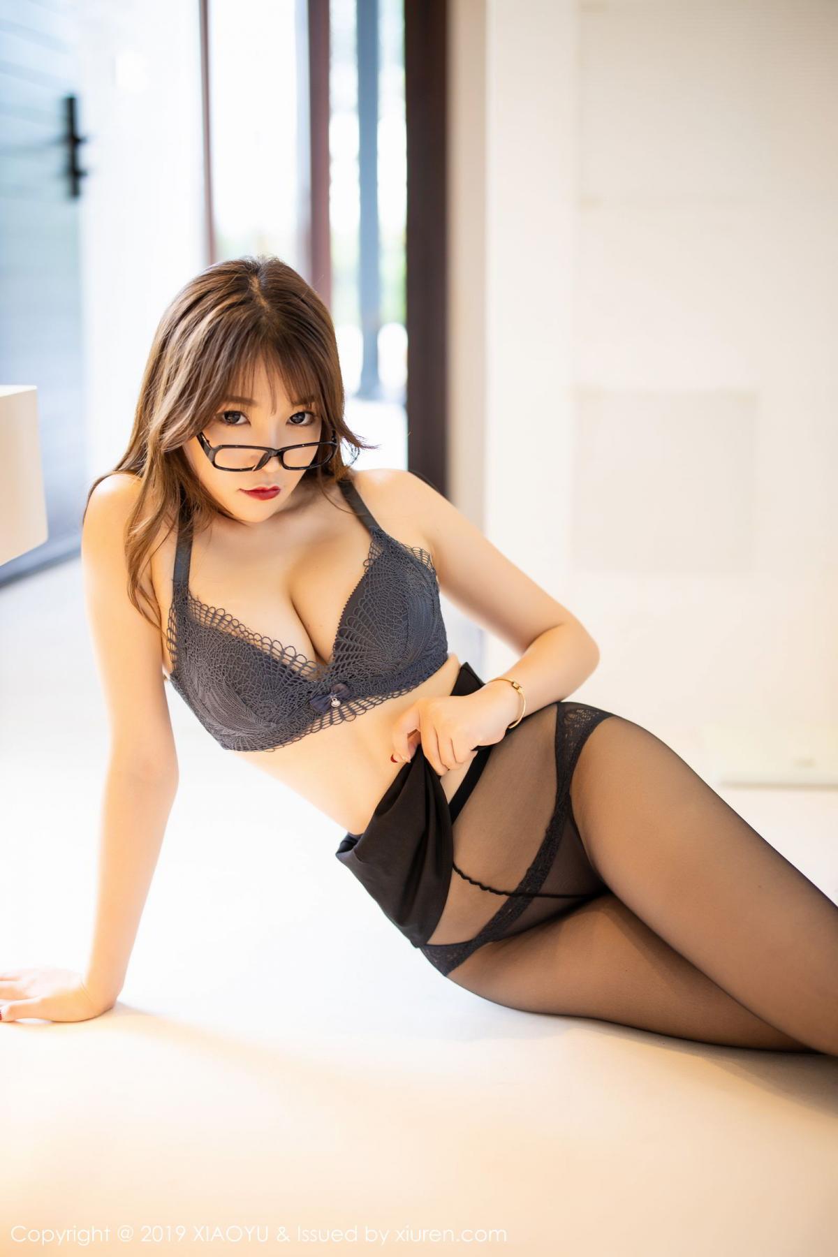 [XiaoYu] Vol.179 Chen Zhi 45P, Black Silk, Chen Zhi, Sexy, Tall, XiaoYu
