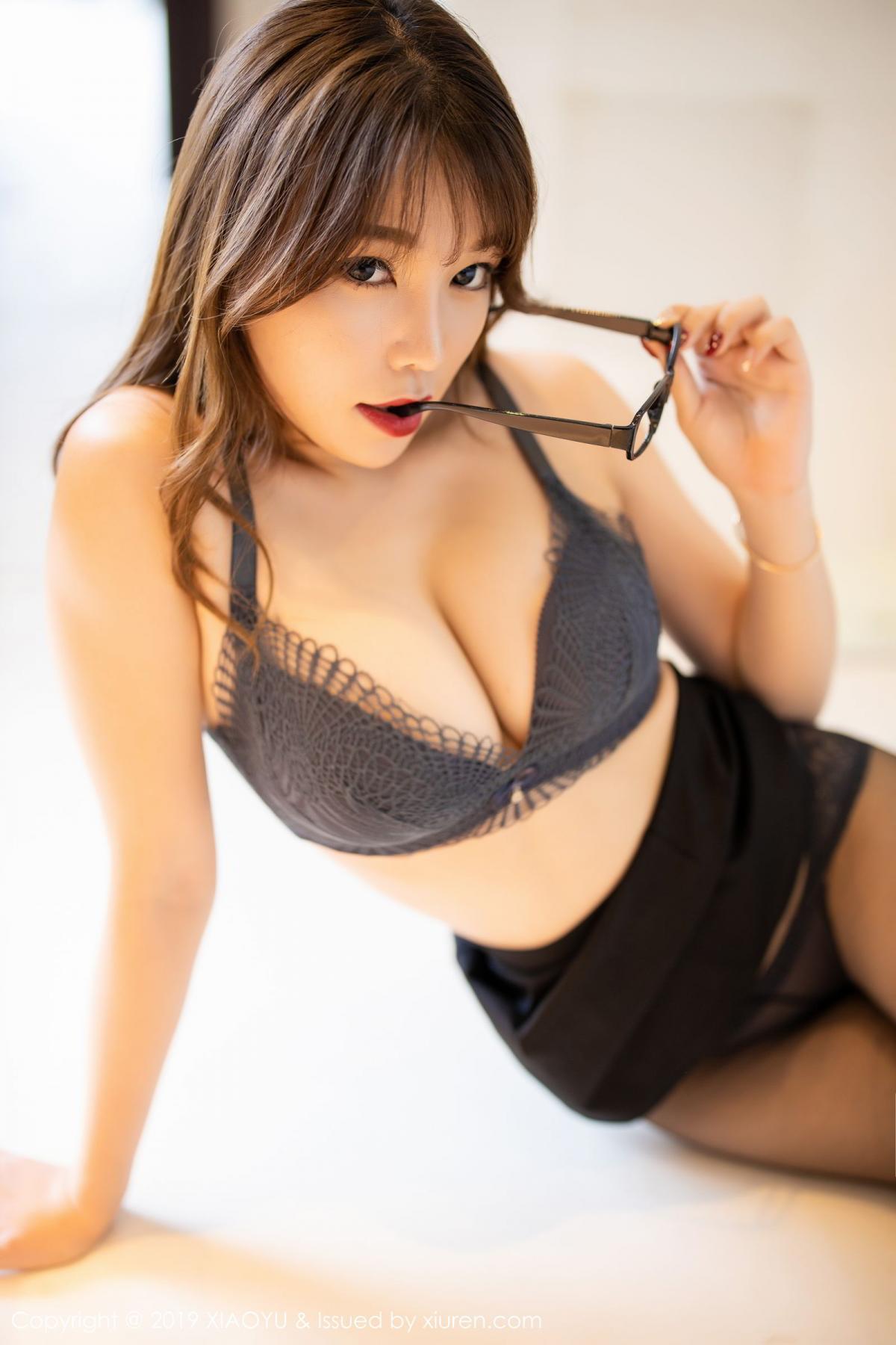 [XiaoYu] Vol.179 Chen Zhi 46P, Black Silk, Chen Zhi, Sexy, Tall, XiaoYu