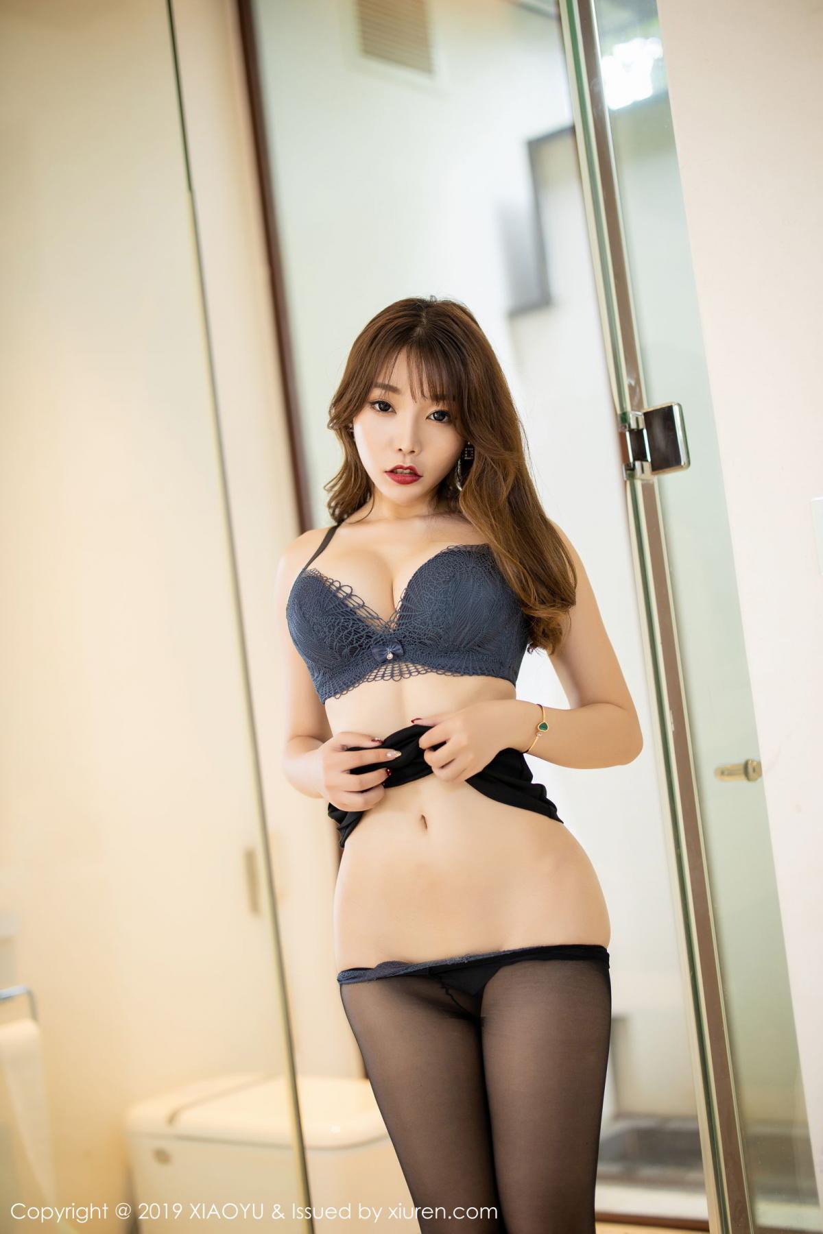 [XiaoYu] Vol.179 Chen Zhi 54P, Black Silk, Chen Zhi, Sexy, Tall, XiaoYu