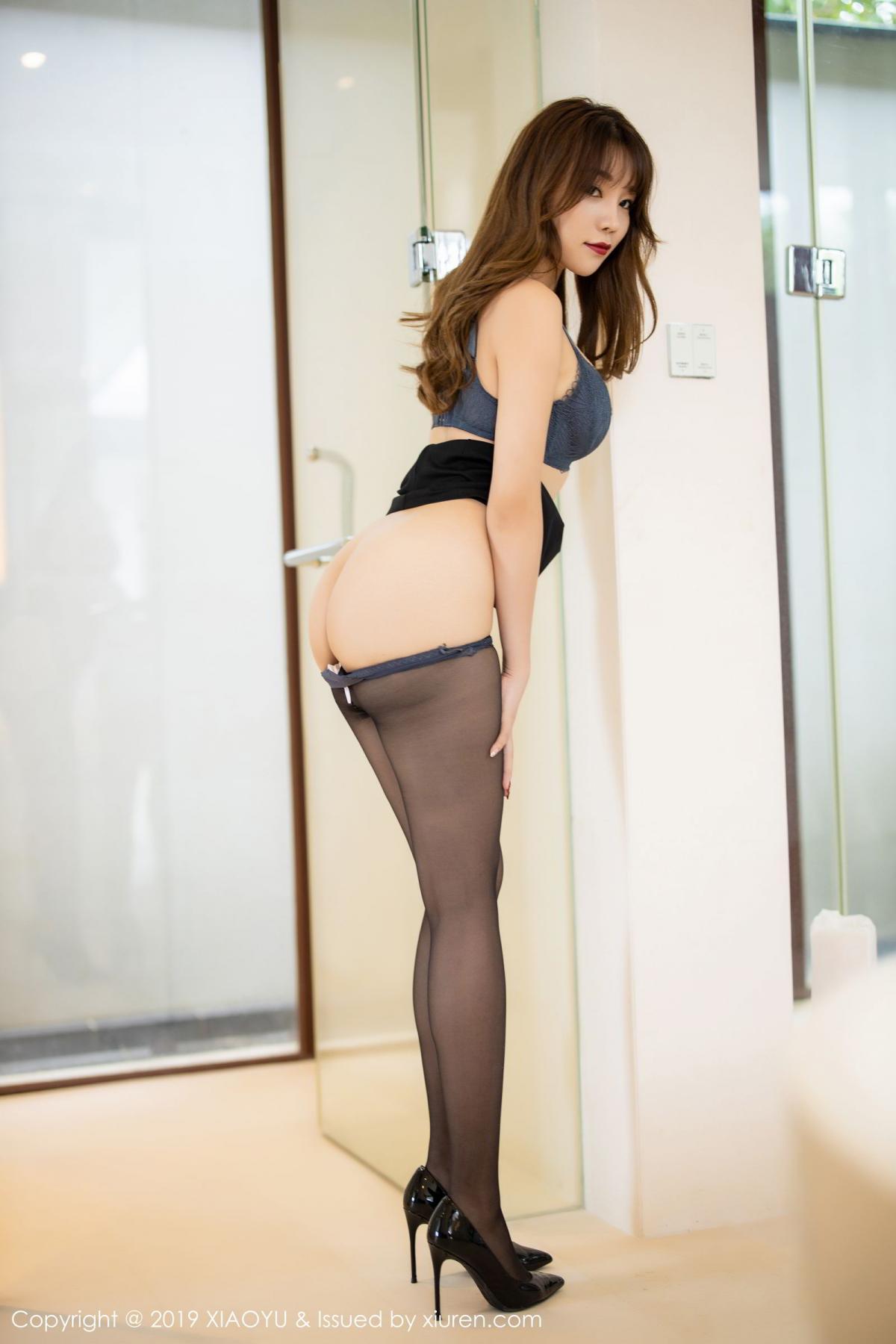 [XiaoYu] Vol.179 Chen Zhi 57P, Black Silk, Chen Zhi, Sexy, Tall, XiaoYu