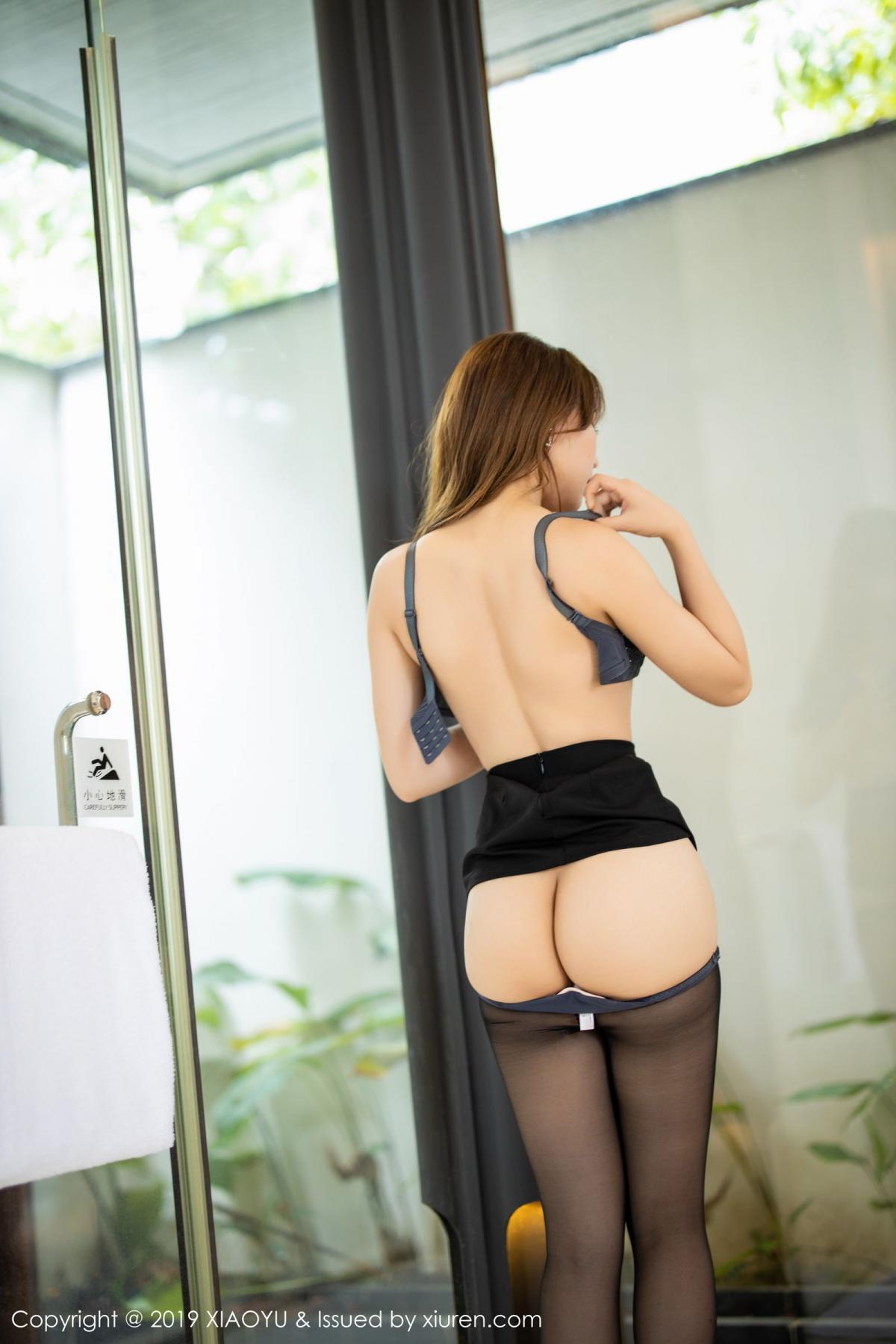 [XiaoYu] Vol.179 Chen Zhi 58P, Black Silk, Chen Zhi, Sexy, Tall, XiaoYu