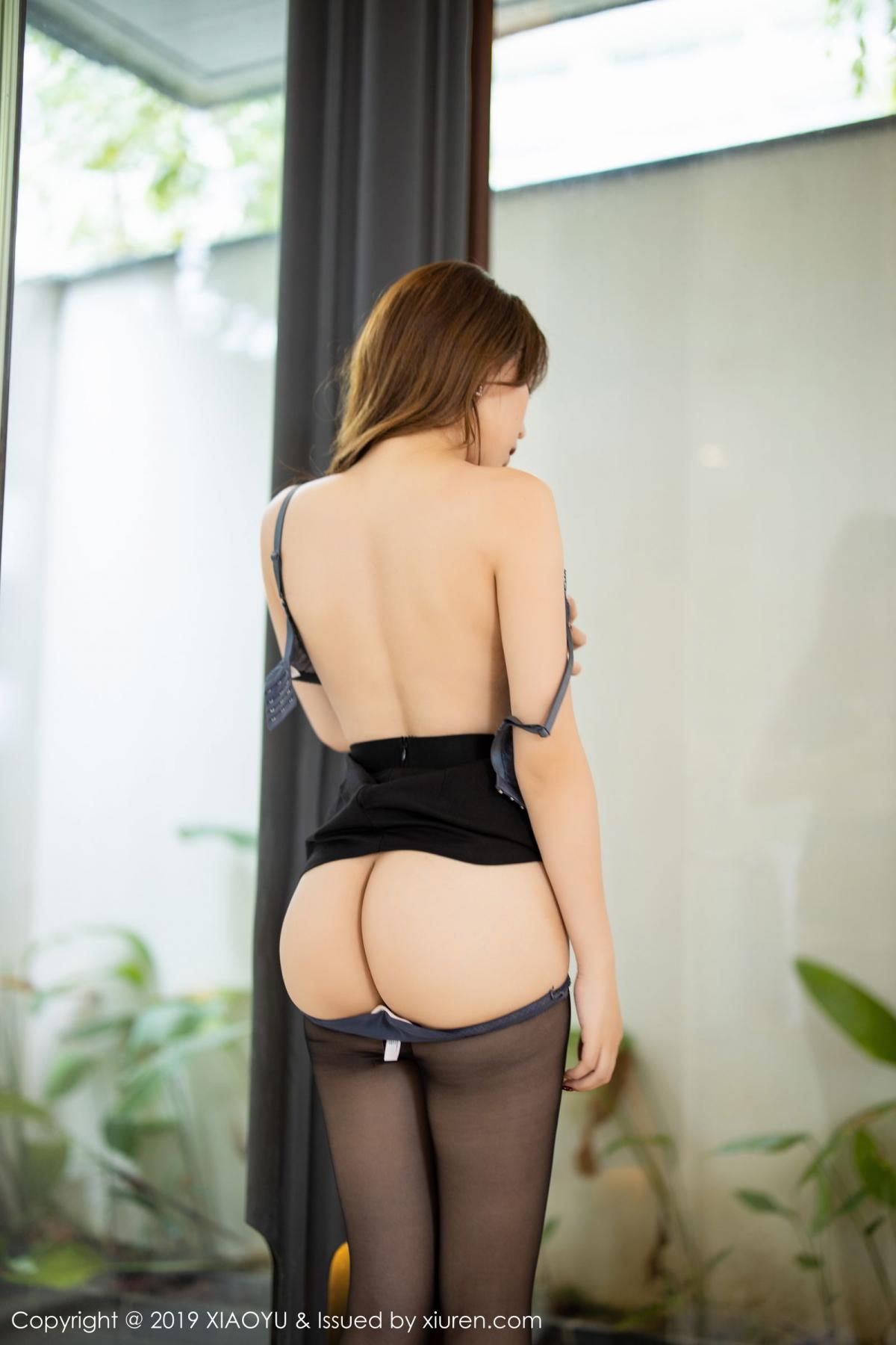 [XiaoYu] Vol.179 Chen Zhi 59P, Black Silk, Chen Zhi, Sexy, Tall, XiaoYu