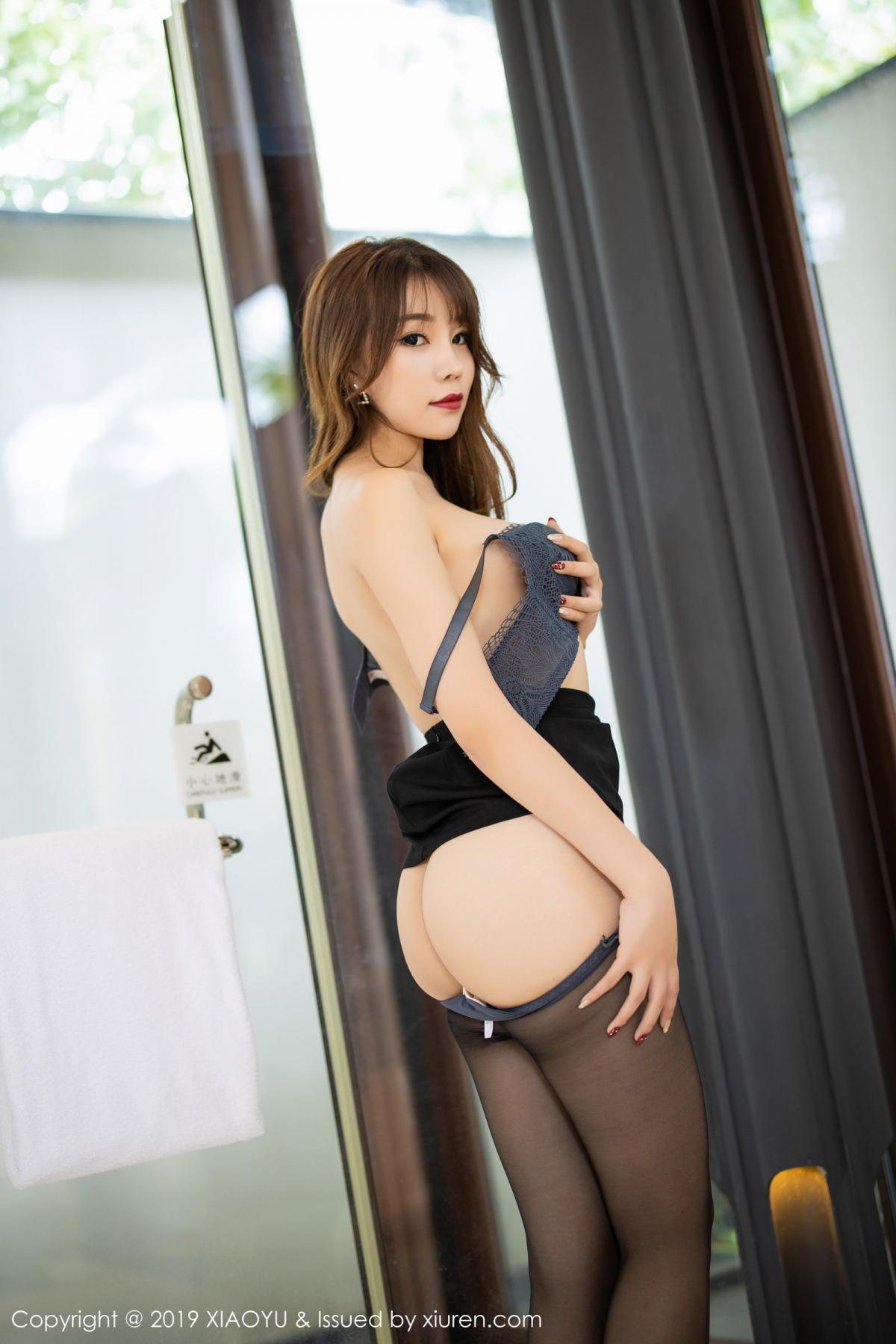 [XiaoYu] Vol.179 Chen Zhi 60P, Black Silk, Chen Zhi, Sexy, Tall, XiaoYu
