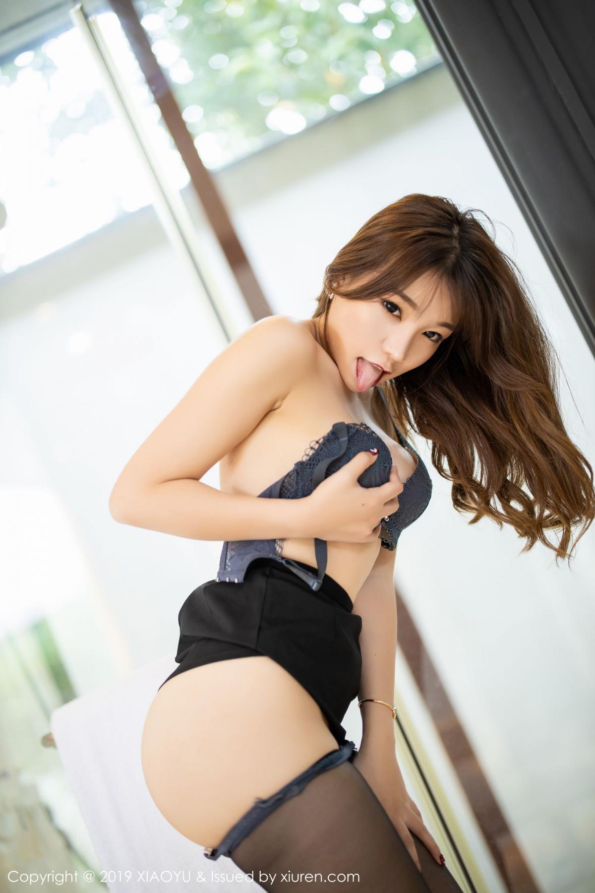 [XiaoYu] Vol.179 Chen Zhi 64P, Black Silk, Chen Zhi, Sexy, Tall, XiaoYu