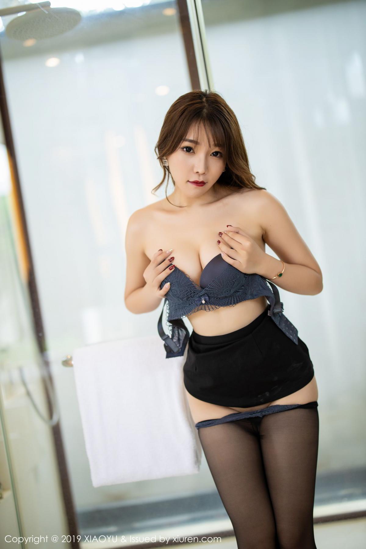 [XiaoYu] Vol.179 Chen Zhi 67P, Black Silk, Chen Zhi, Sexy, Tall, XiaoYu