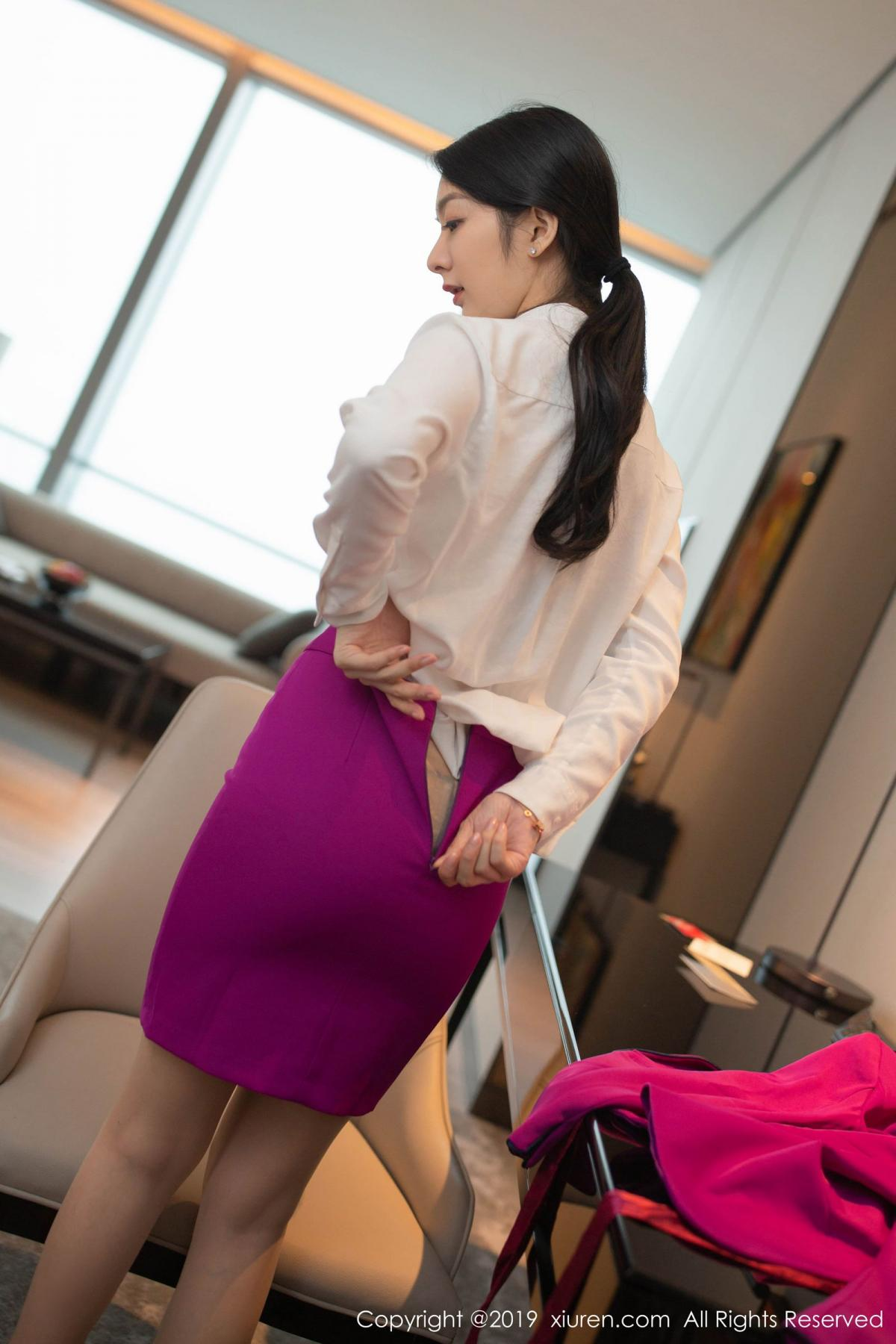 [XiaoYu] Vol.1799 Xiao Re Ba 4P, Di Yi, Stewardess, Underwear, XiaoYu