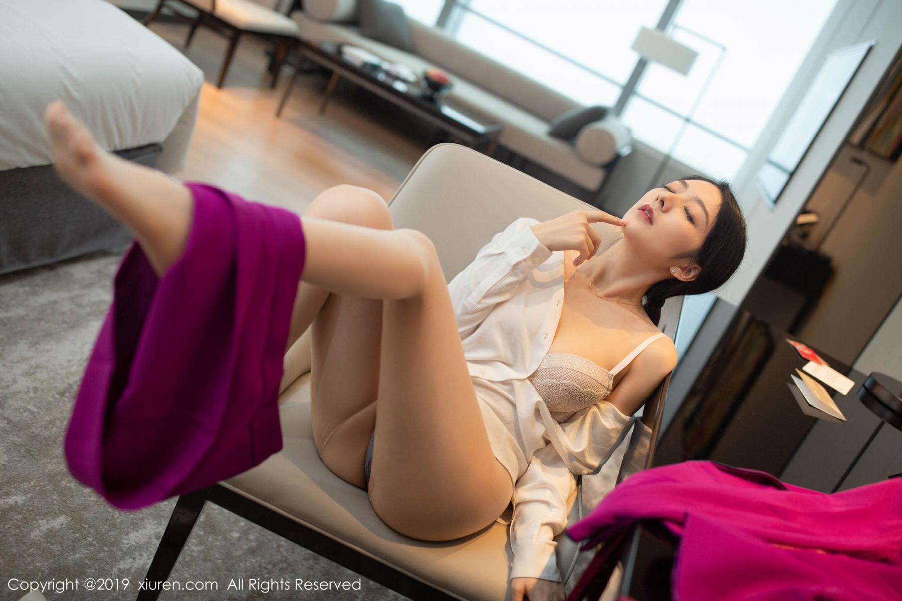 [XiaoYu] Vol.1799 Xiao Re Ba 60P, Di Yi, Stewardess, Underwear, XiaoYu