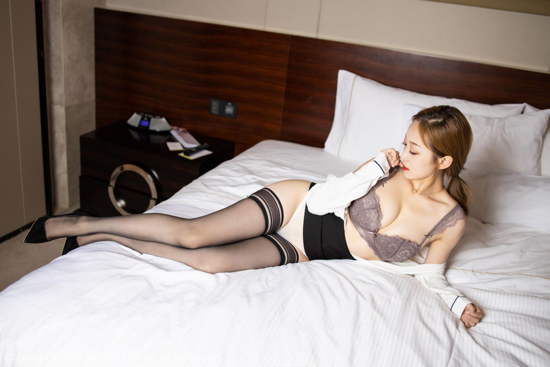 [XiaoYu] Vol.181 Yuner Claire 33P, Black Silk, Underwear, XiaoYu, Yuner Claire