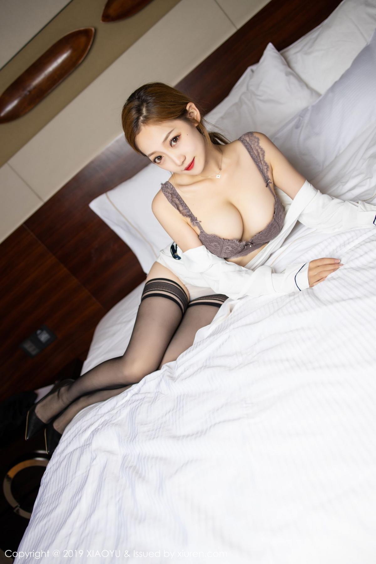 [XiaoYu] Vol.181 Yuner Claire 48P, Black Silk, Underwear, XiaoYu, Yuner Claire