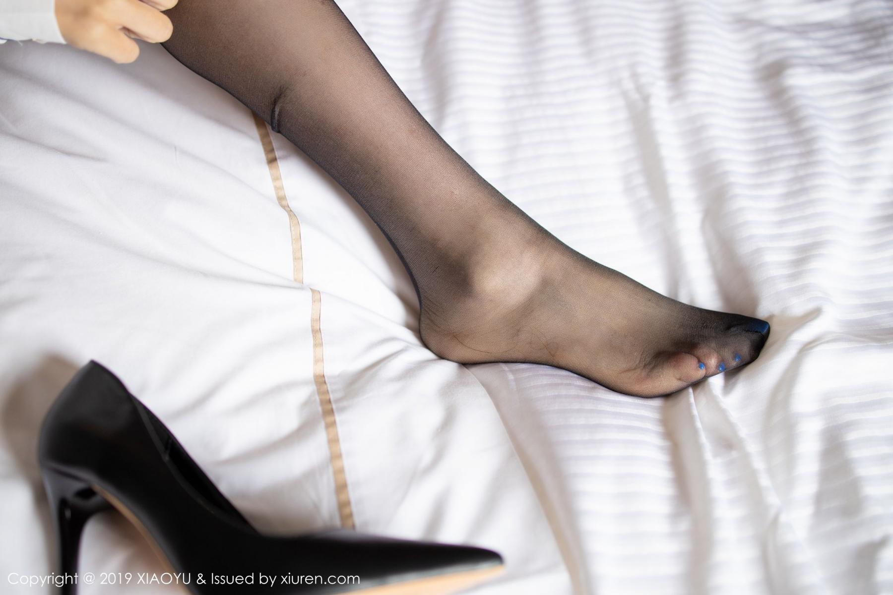 [XiaoYu] Vol.181 Yuner Claire 54P, Black Silk, Underwear, XiaoYu, Yuner Claire