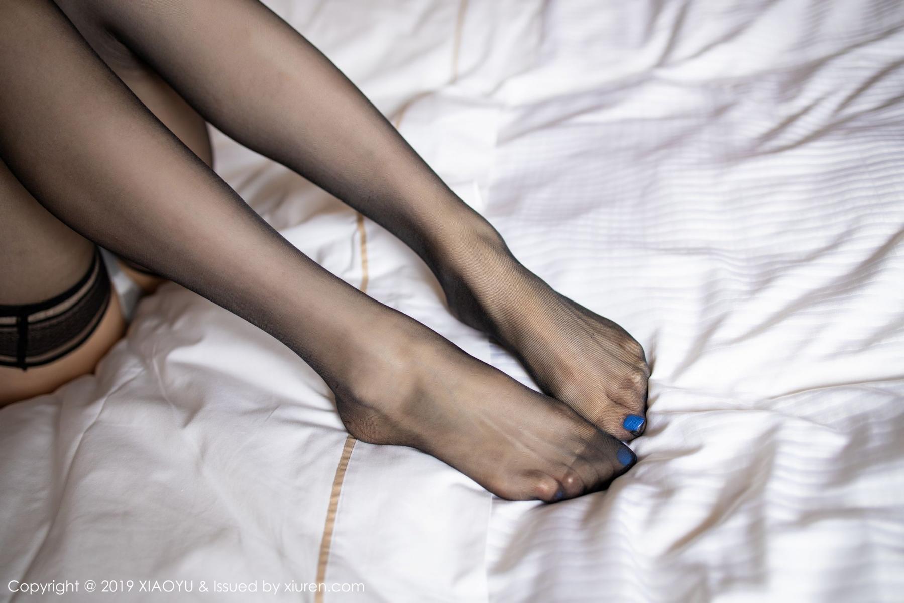 [XiaoYu] Vol.181 Yuner Claire 56P, Black Silk, Underwear, XiaoYu, Yuner Claire