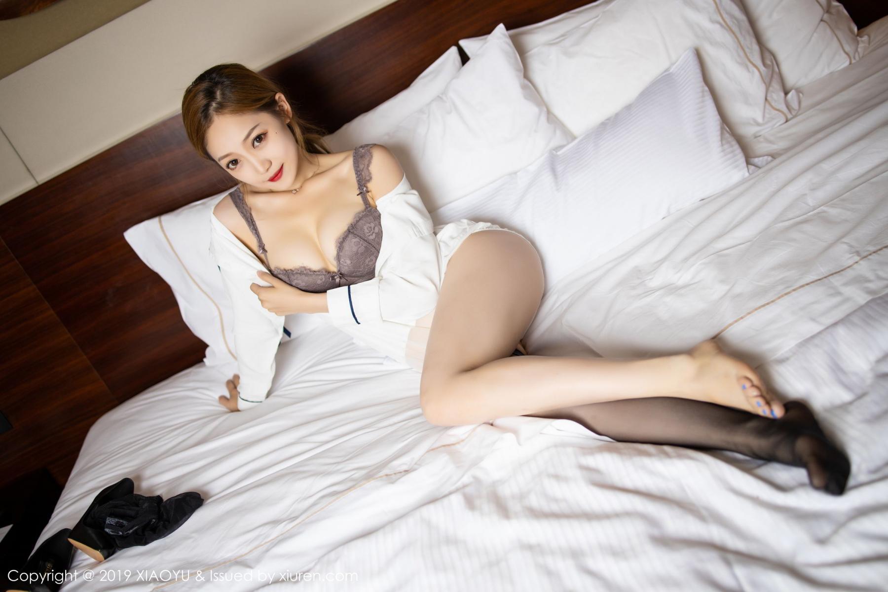 [XiaoYu] Vol.181 Yuner Claire 61P, Black Silk, Underwear, XiaoYu, Yuner Claire