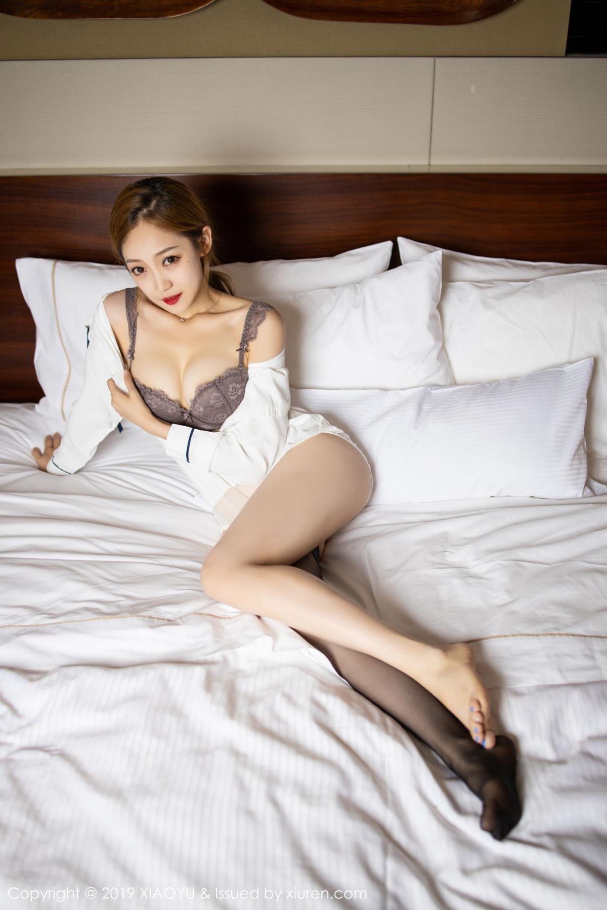 [XiaoYu] Vol.181 Yuner Claire 62P, Black Silk, Underwear, XiaoYu, Yuner Claire