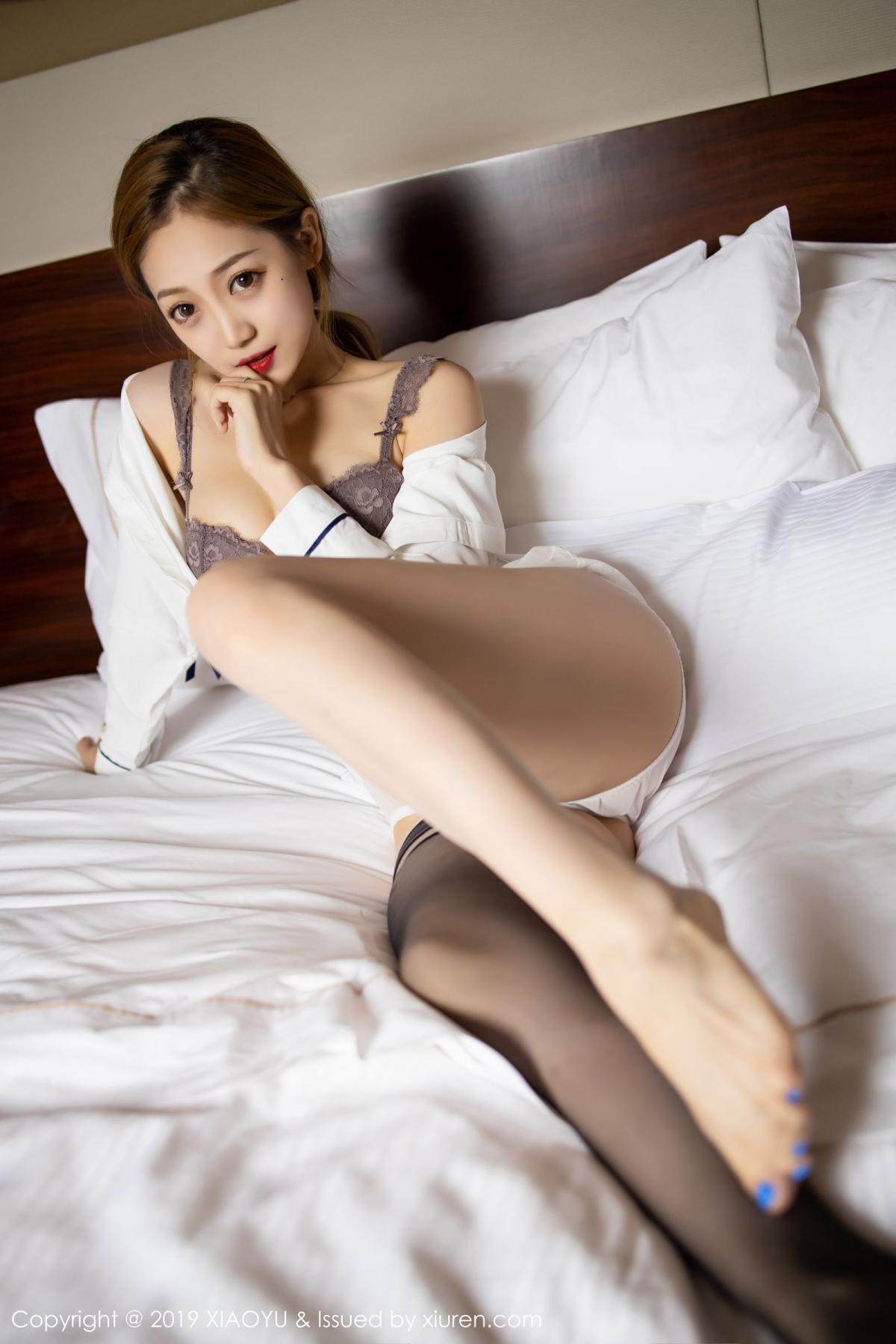 [XiaoYu] Vol.181 Yuner Claire 63P, Black Silk, Underwear, XiaoYu, Yuner Claire