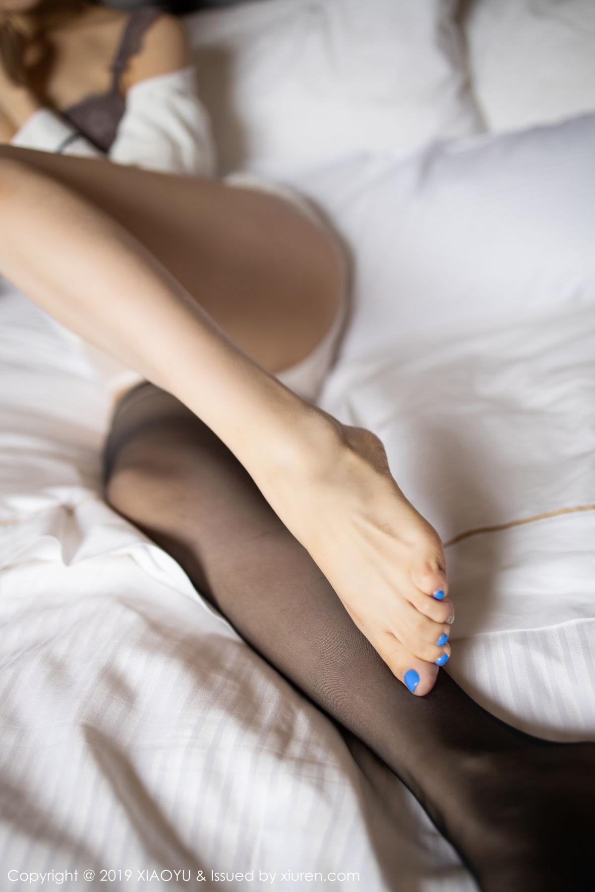 [XiaoYu] Vol.181 Yuner Claire 64P, Black Silk, Underwear, XiaoYu, Yuner Claire