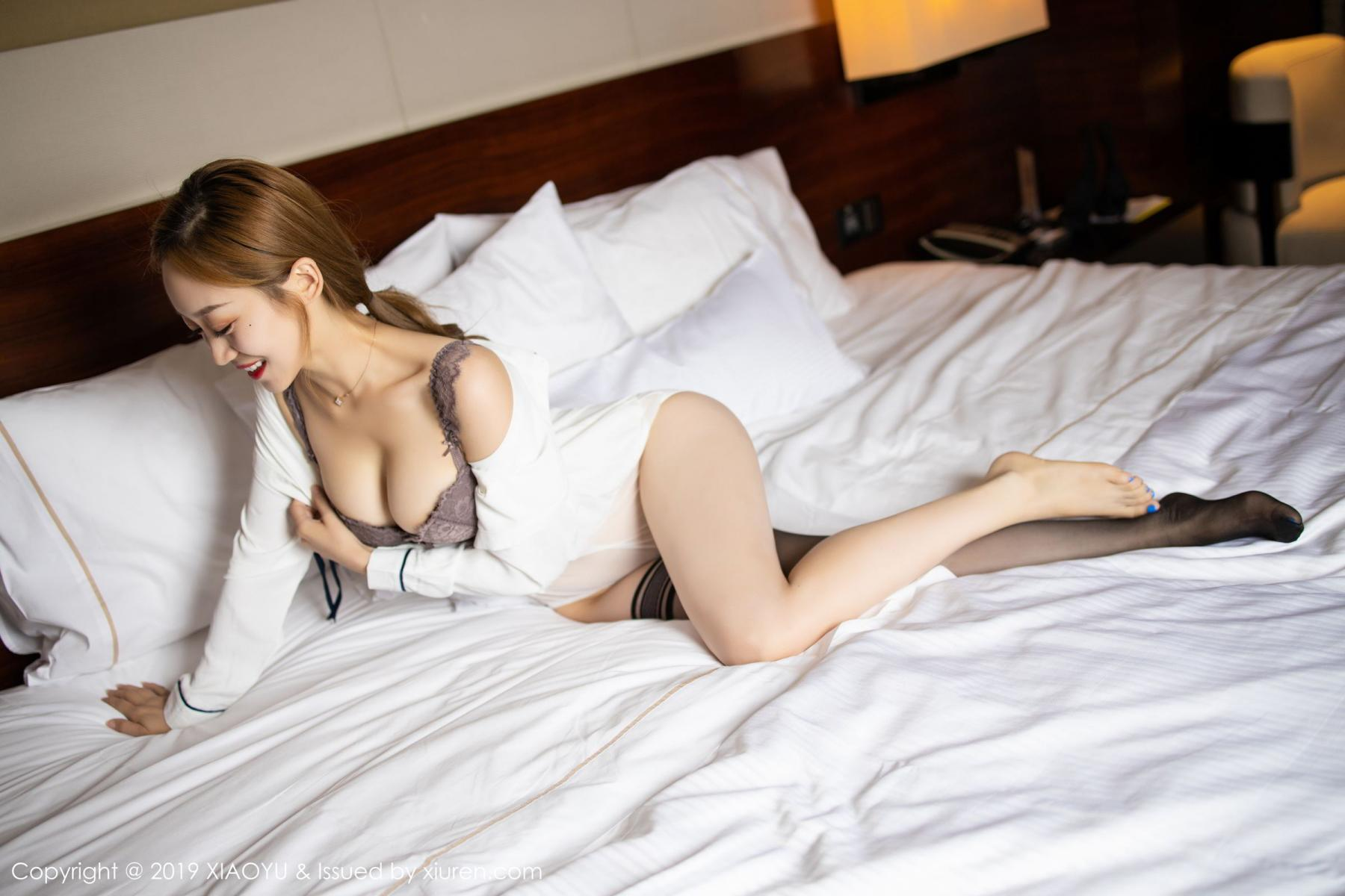 [XiaoYu] Vol.181 Yuner Claire 65P, Black Silk, Underwear, XiaoYu, Yuner Claire