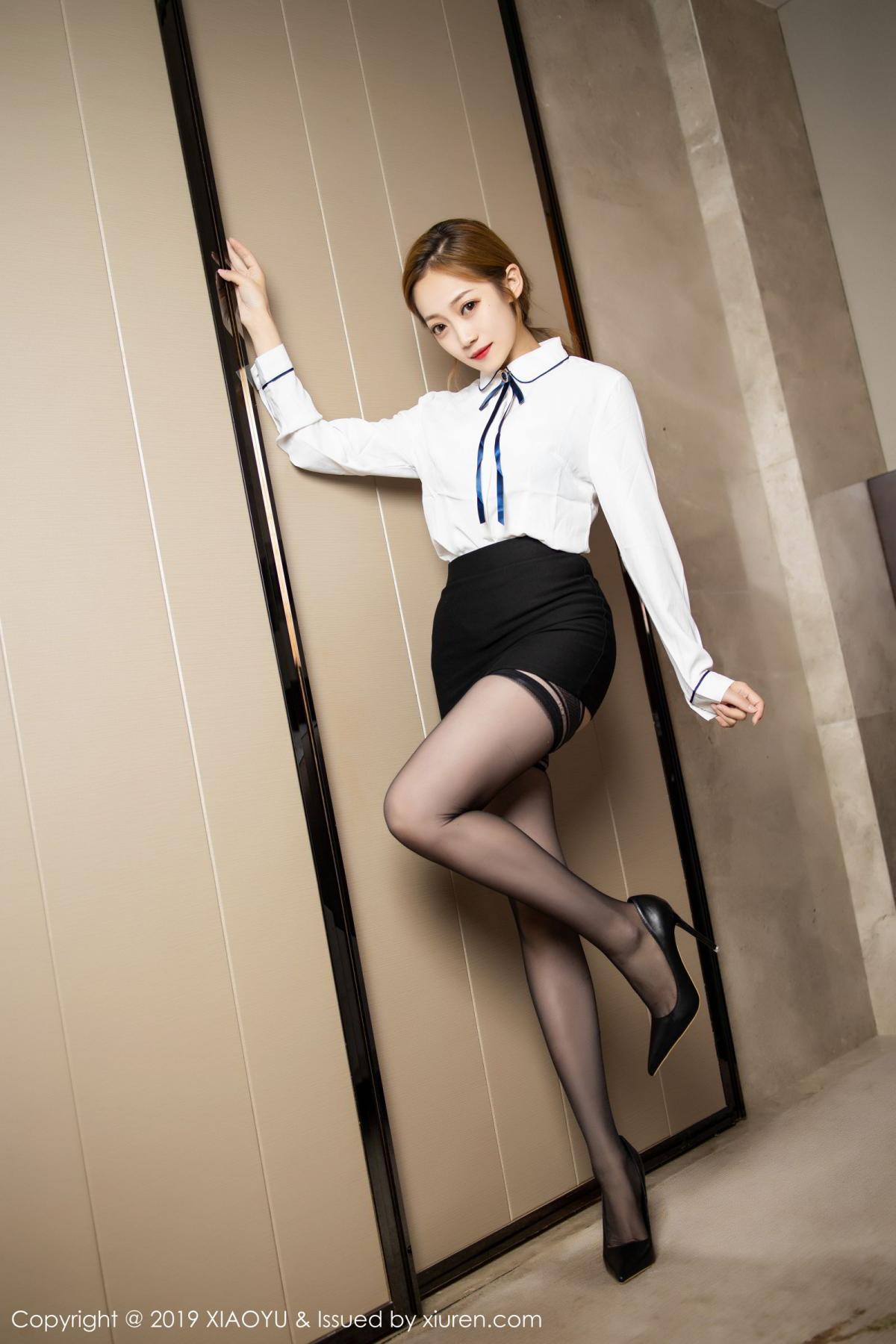 [XiaoYu] Vol.181 Yuner Claire 8P, Black Silk, Underwear, XiaoYu, Yuner Claire