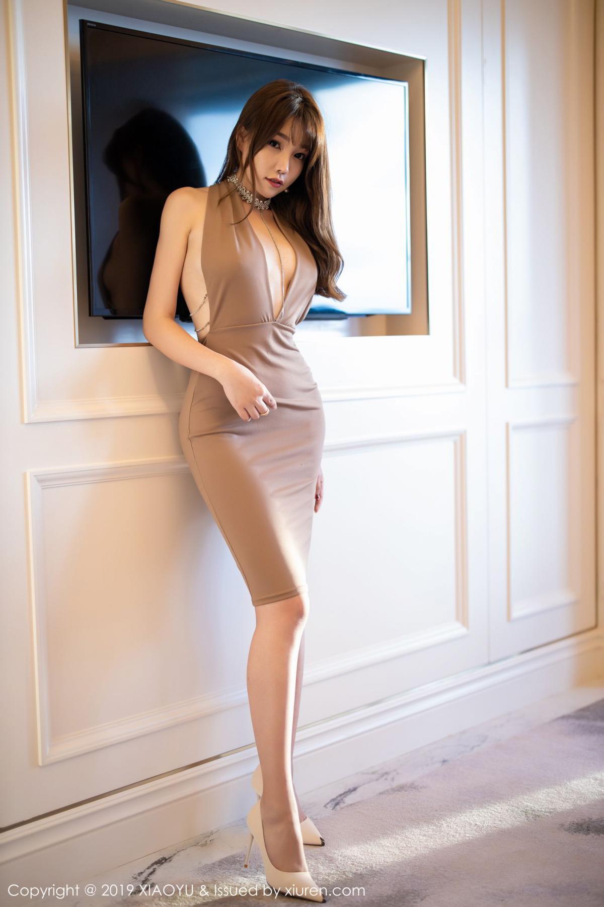 [XiaoYu] Vol.192 Chen Zhi 50P, Chen Zhi, Cheongsam, Tall, XiaoYu