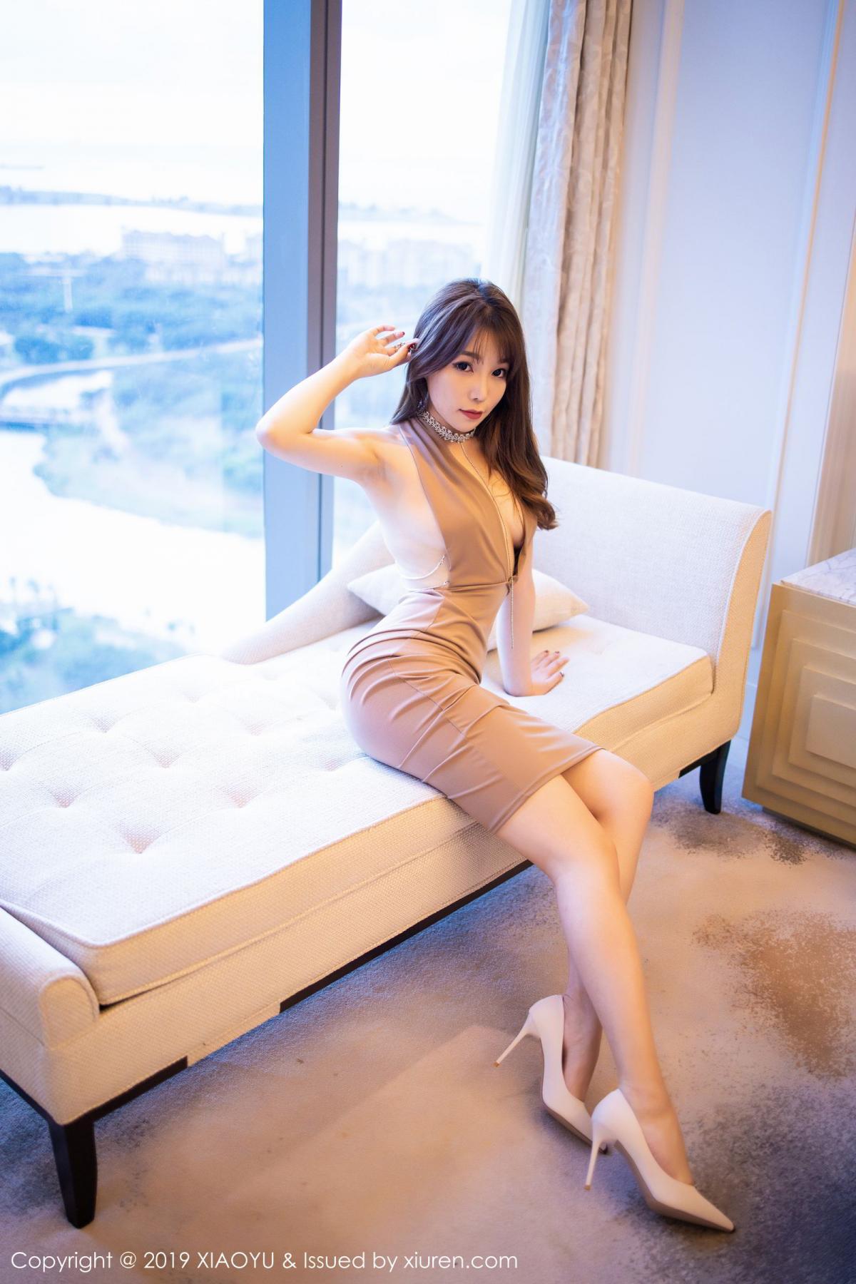 [XiaoYu] Vol.192 Chen Zhi 70P, Chen Zhi, Cheongsam, Tall, XiaoYu