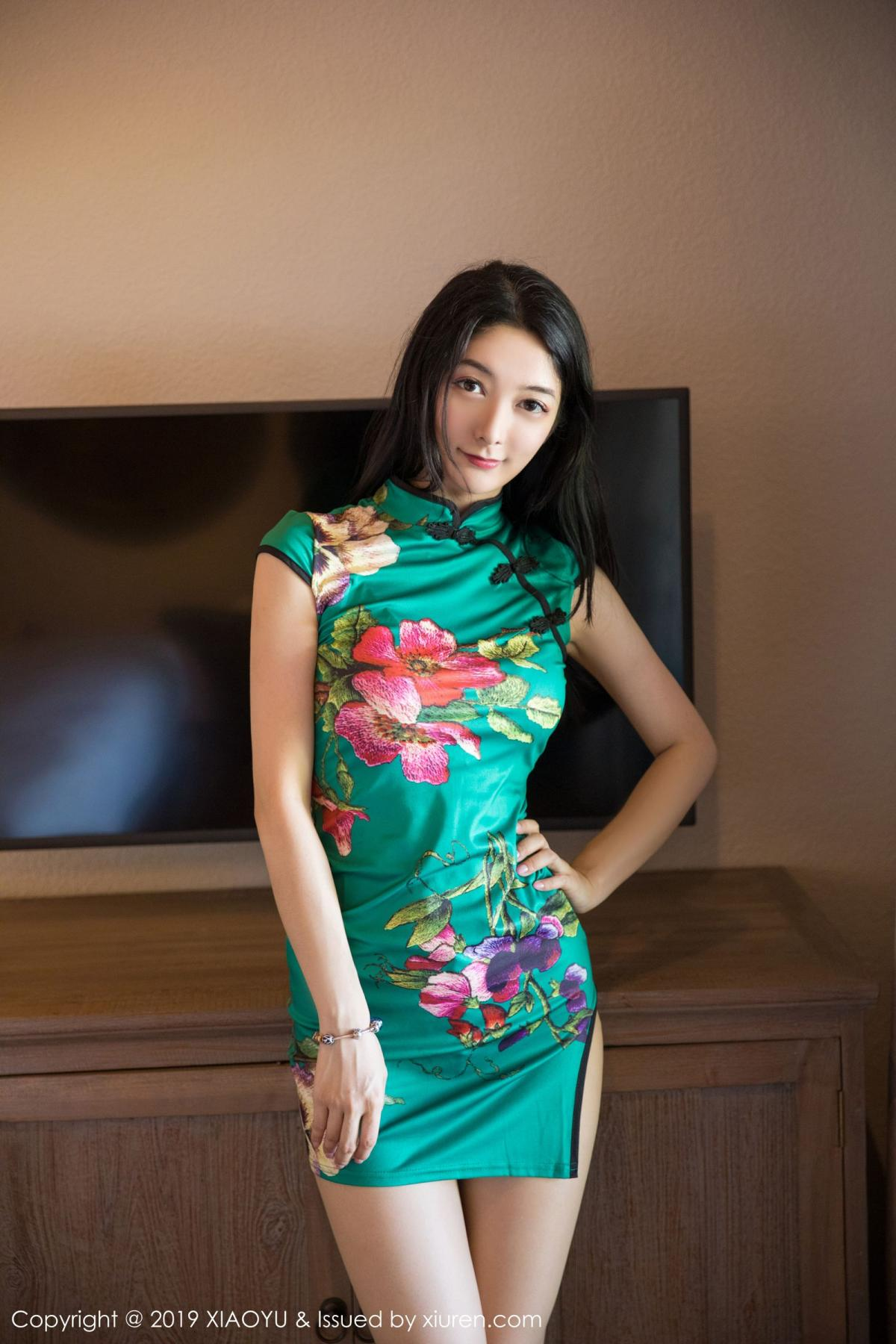 [XiaoYu] Vol.193 Xiao Re Ba 13P, Cheongsam, Di Yi, XiaoYu