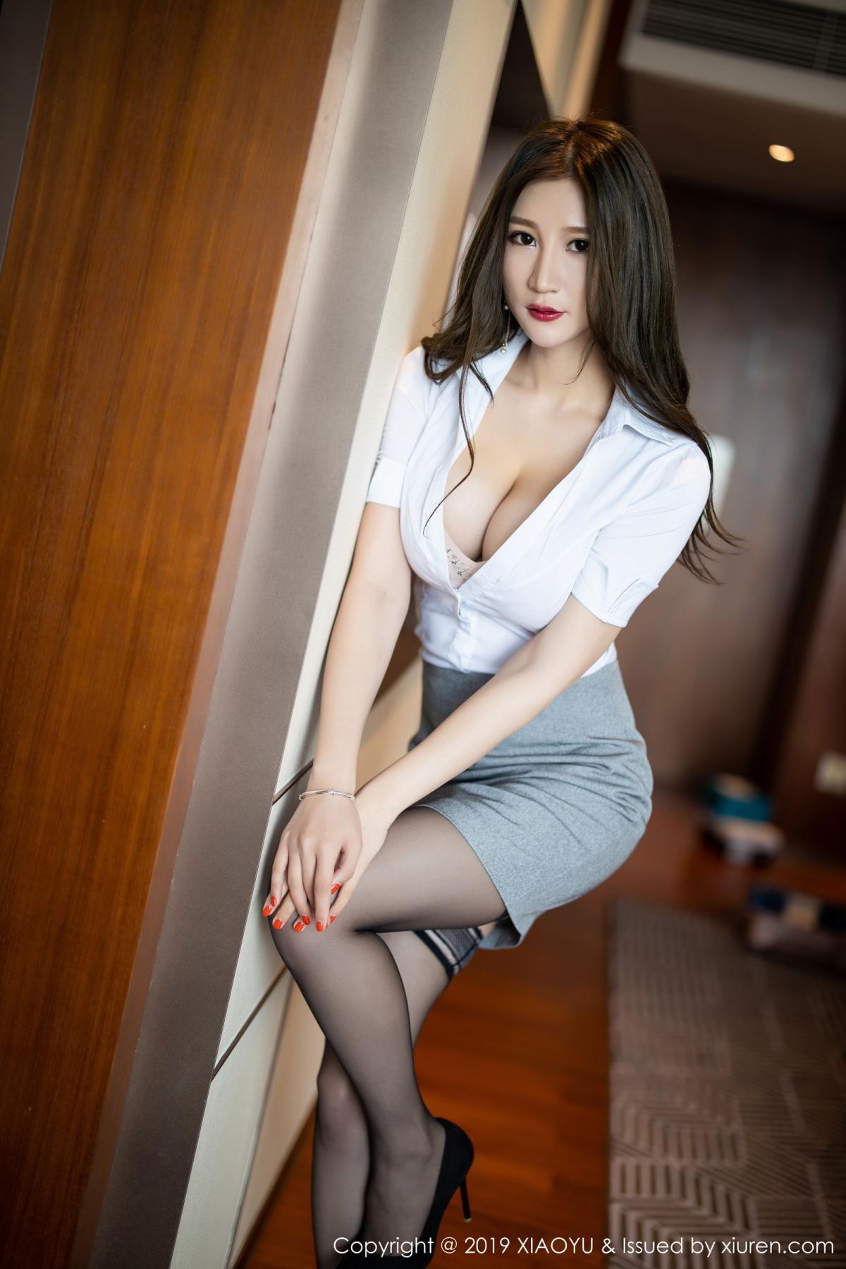 [XiaoYu] Vol.195 Xuan Zi 14P, Tall, Underwear, XiaoYu, Xuan Zi