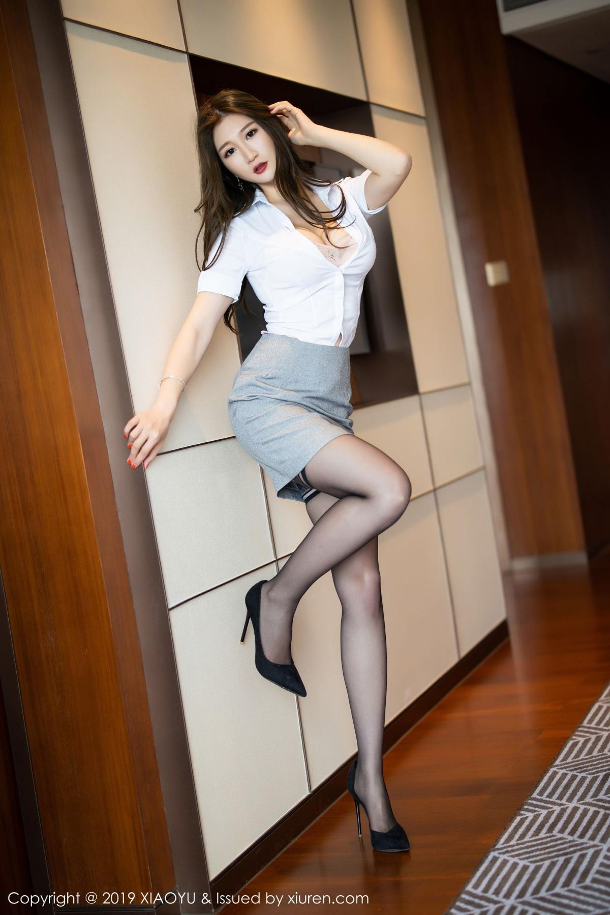 [XiaoYu] Vol.195 Xuan Zi 18P, Tall, Underwear, XiaoYu, Xuan Zi
