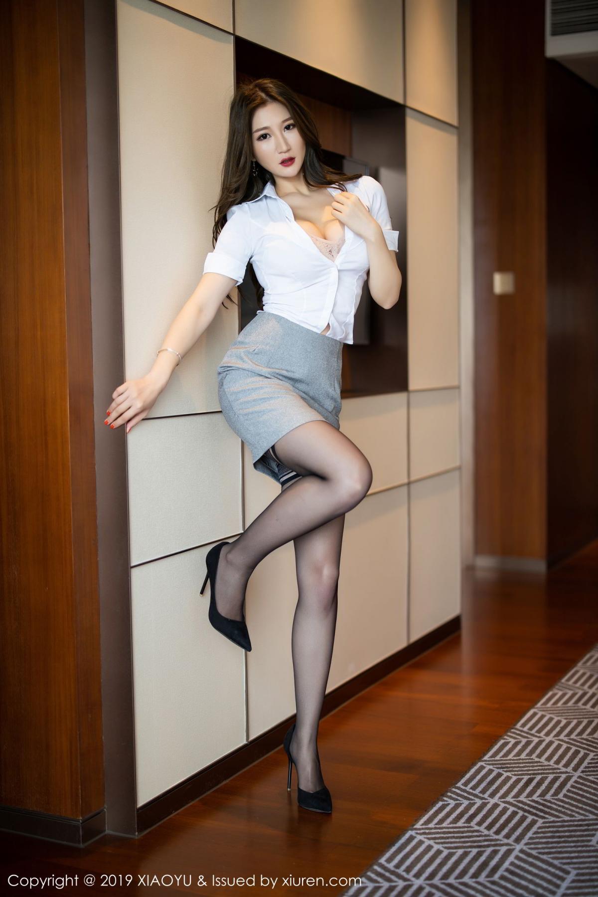 [XiaoYu] Vol.195 Xuan Zi 19P, Tall, Underwear, XiaoYu, Xuan Zi