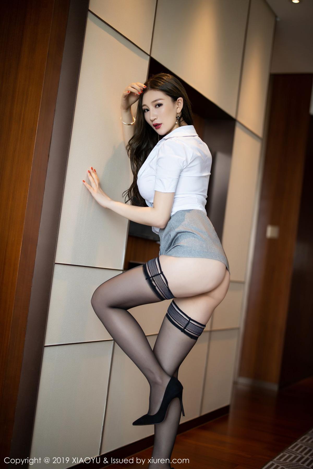 [XiaoYu] Vol.195 Xuan Zi 24P, Tall, Underwear, XiaoYu, Xuan Zi