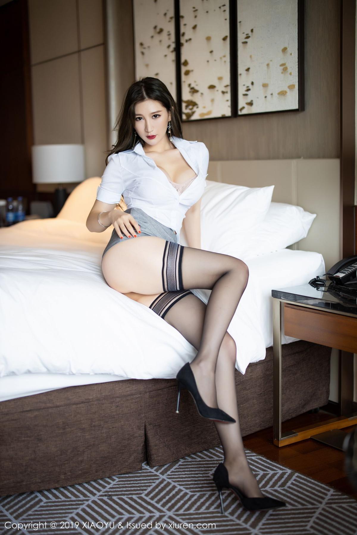 [XiaoYu] Vol.195 Xuan Zi 31P, Tall, Underwear, XiaoYu, Xuan Zi
