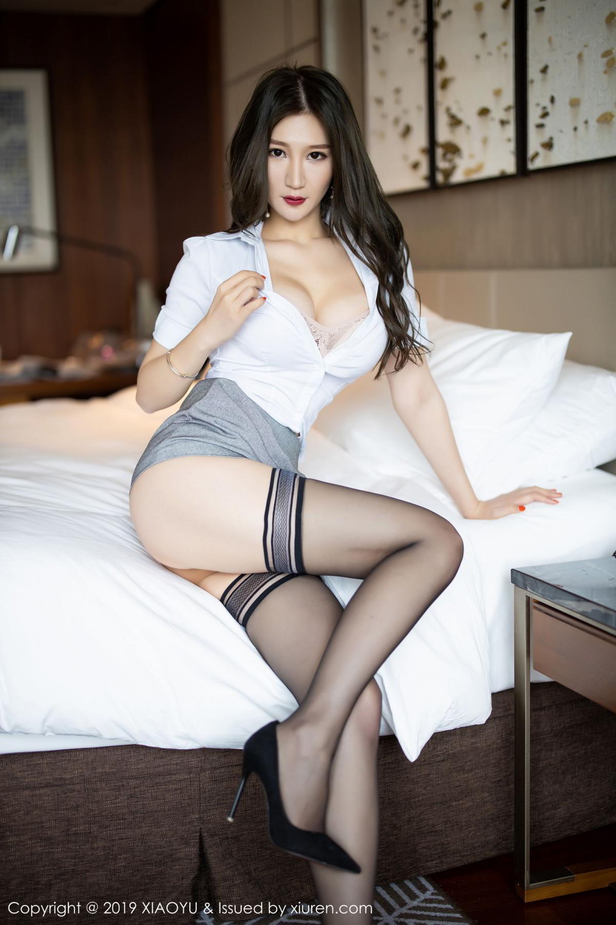 [XiaoYu] Vol.195 Xuan Zi 32P, Tall, Underwear, XiaoYu, Xuan Zi