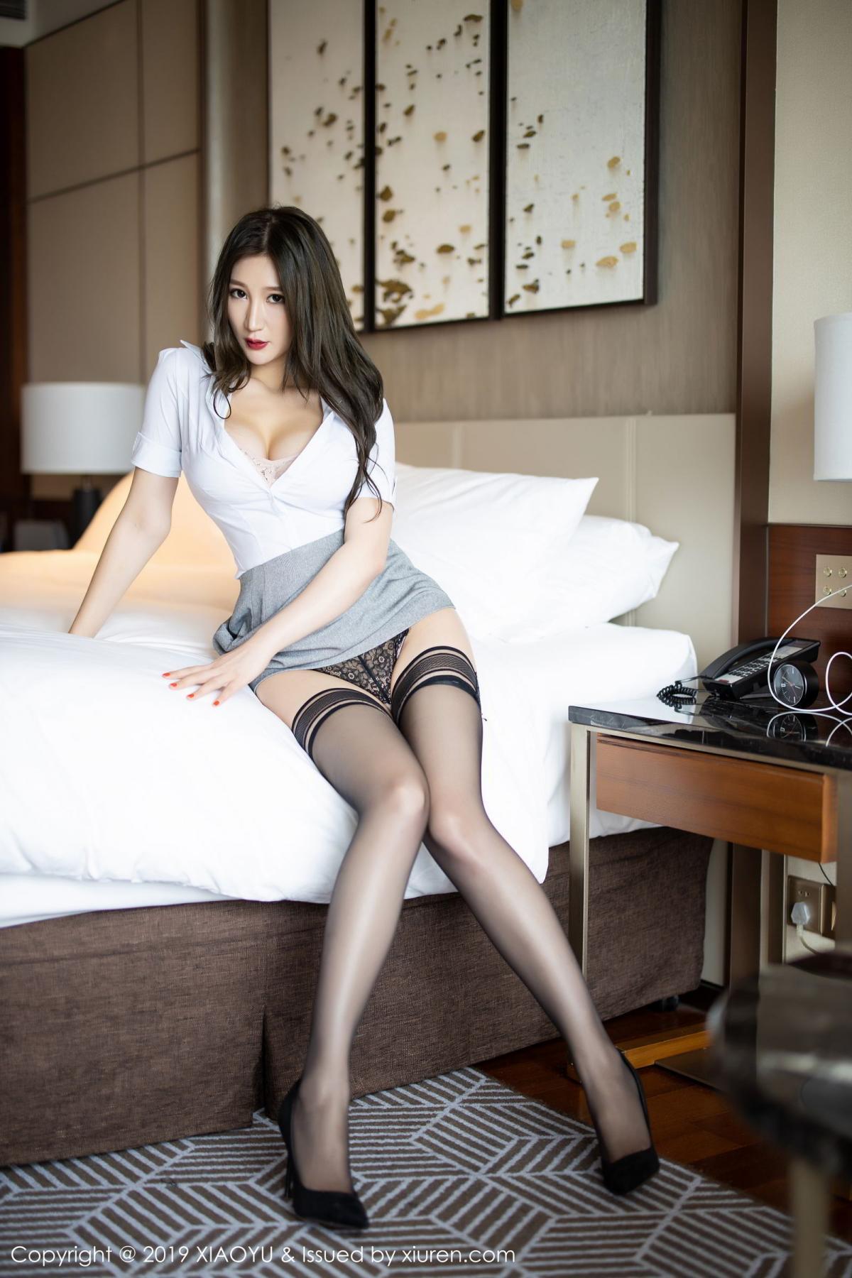 [XiaoYu] Vol.195 Xuan Zi 34P, Tall, Underwear, XiaoYu, Xuan Zi