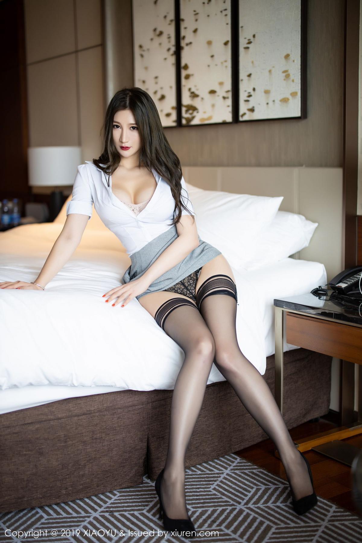 [XiaoYu] Vol.195 Xuan Zi 35P, Tall, Underwear, XiaoYu, Xuan Zi