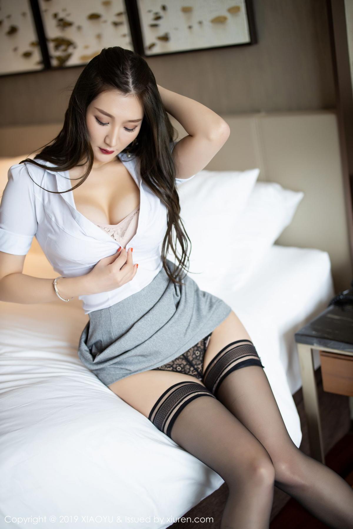 [XiaoYu] Vol.195 Xuan Zi 37P, Tall, Underwear, XiaoYu, Xuan Zi