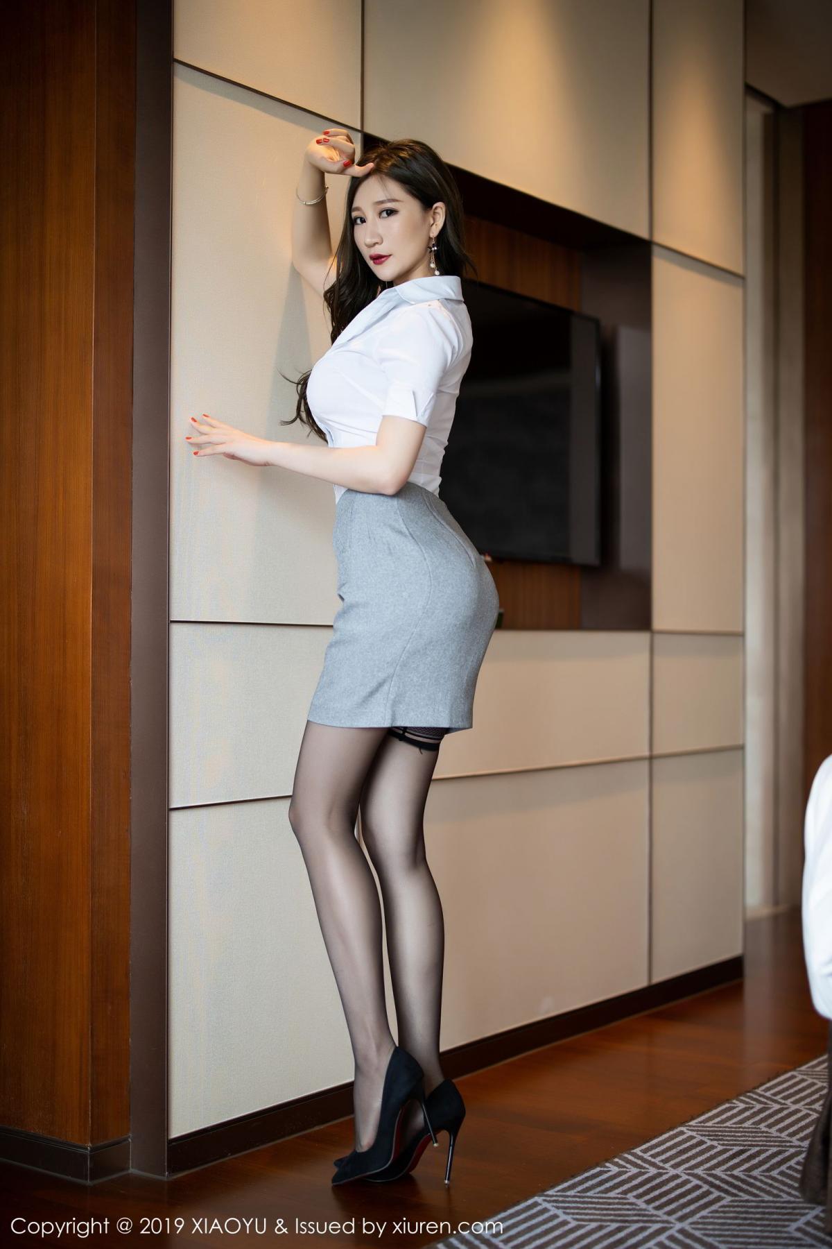 [XiaoYu] Vol.195 Xuan Zi 3P, Tall, Underwear, XiaoYu, Xuan Zi
