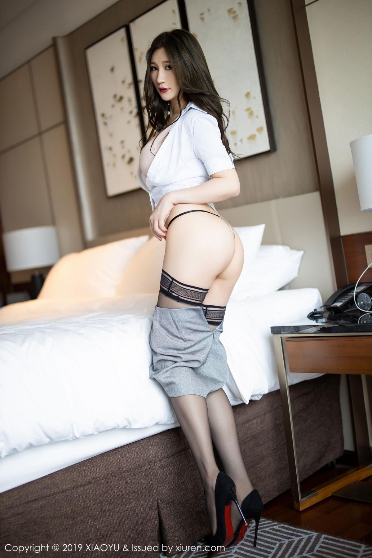 [XiaoYu] Vol.195 Xuan Zi 42P, Tall, Underwear, XiaoYu, Xuan Zi