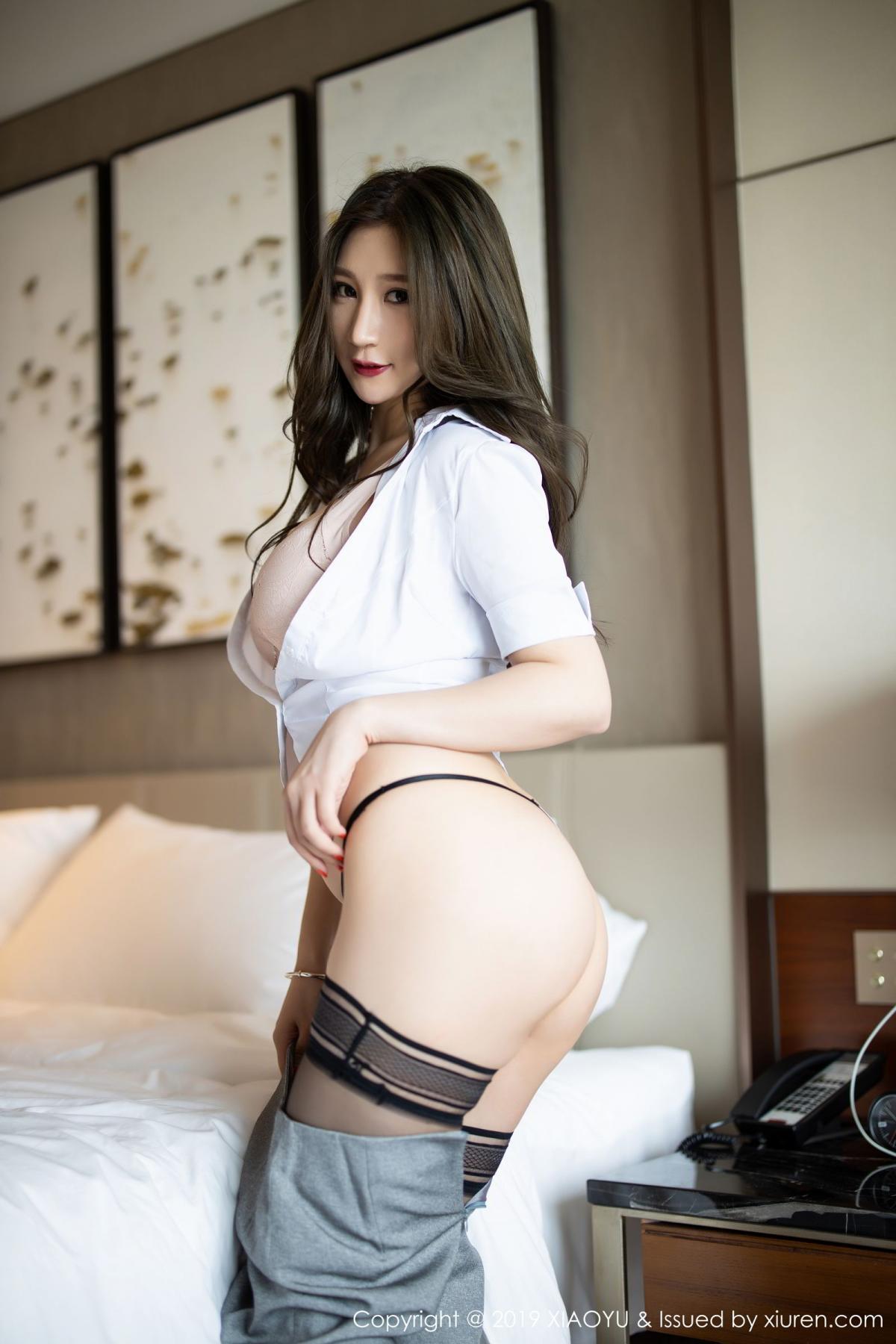 [XiaoYu] Vol.195 Xuan Zi 43P, Tall, Underwear, XiaoYu, Xuan Zi