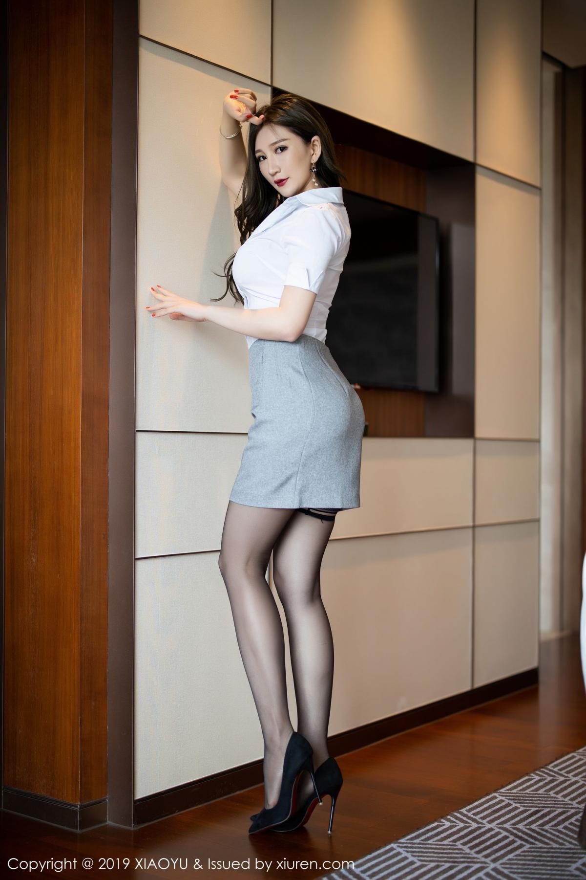 [XiaoYu] Vol.195 Xuan Zi 4P, Tall, Underwear, XiaoYu, Xuan Zi