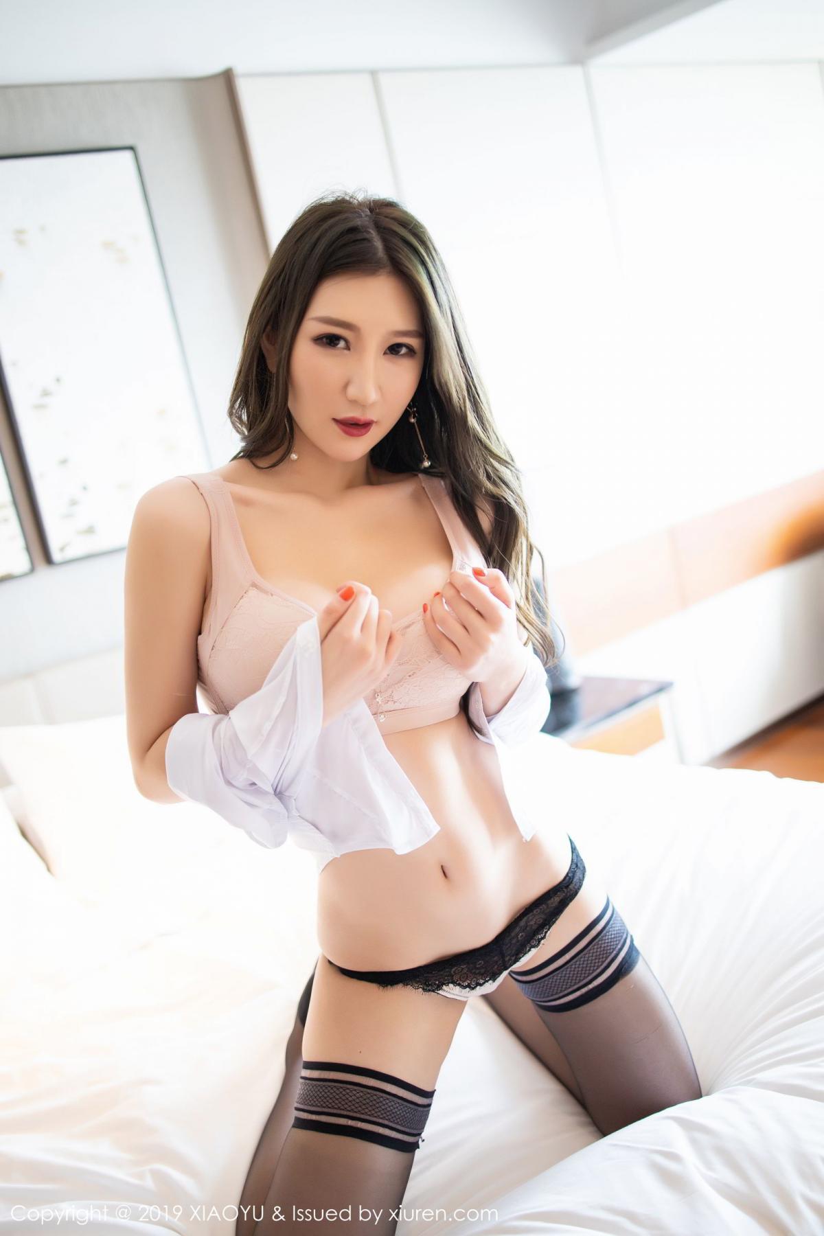 [XiaoYu] Vol.195 Xuan Zi 73P, Tall, Underwear, XiaoYu, Xuan Zi