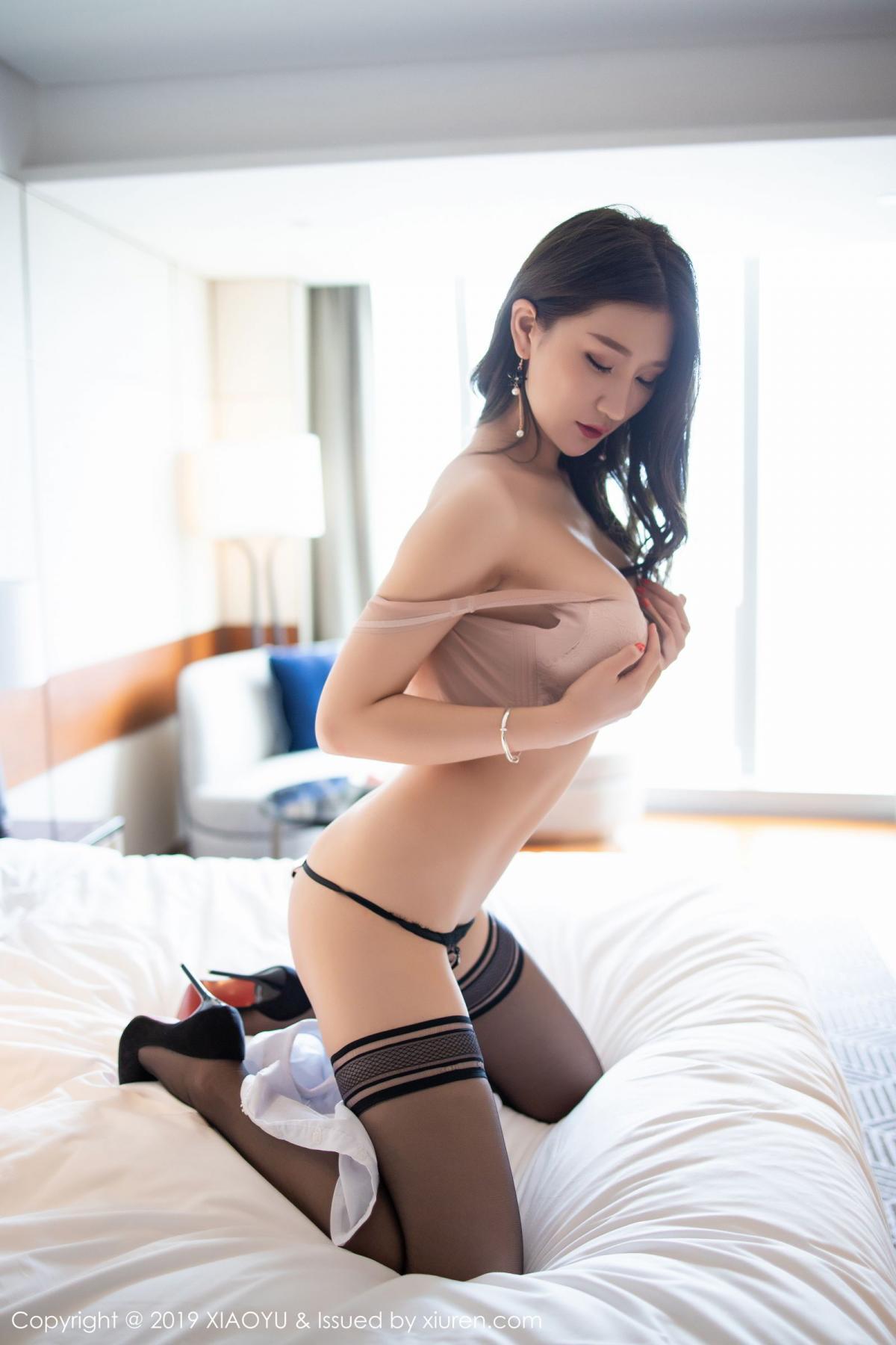 [XiaoYu] Vol.195 Xuan Zi 76P, Tall, Underwear, XiaoYu, Xuan Zi