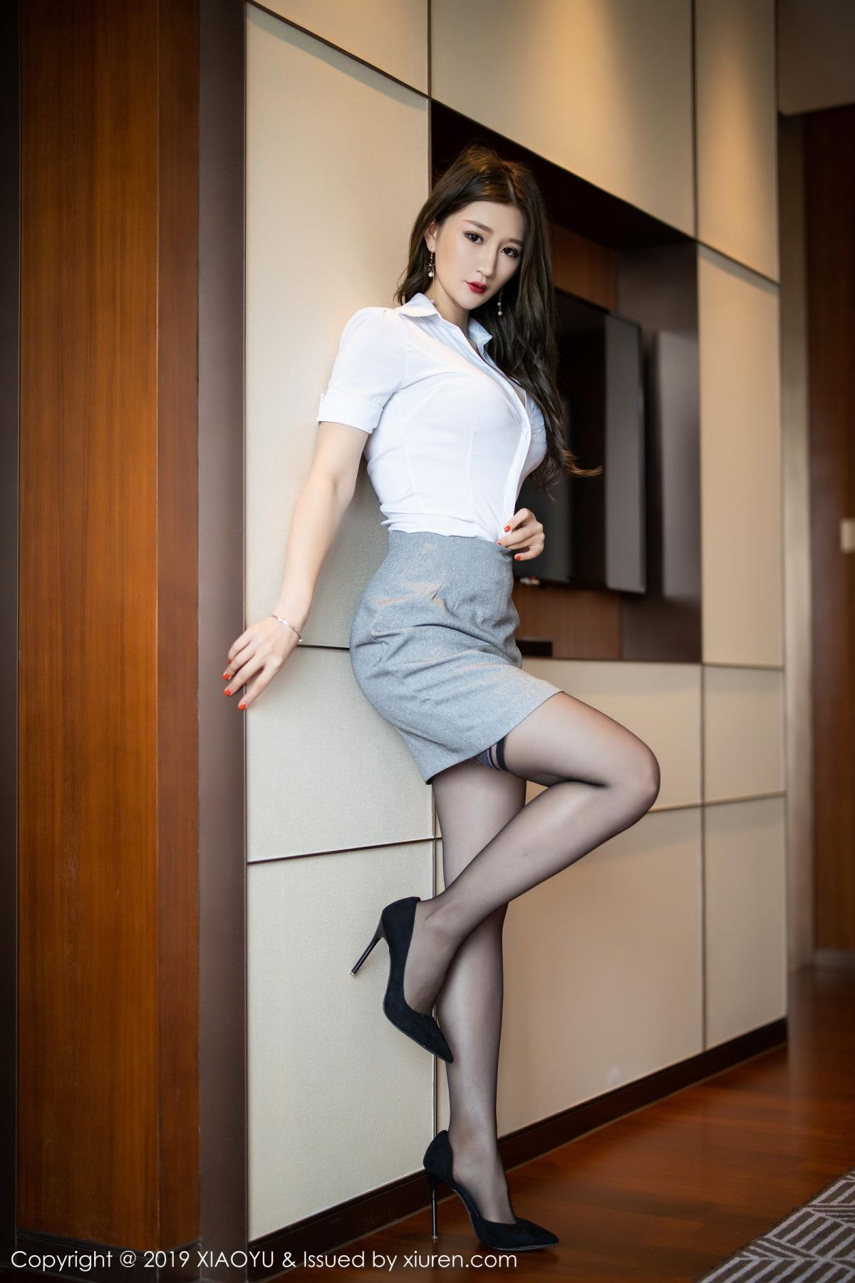 [XiaoYu] Vol.195 Xuan Zi 7P, Tall, Underwear, XiaoYu, Xuan Zi