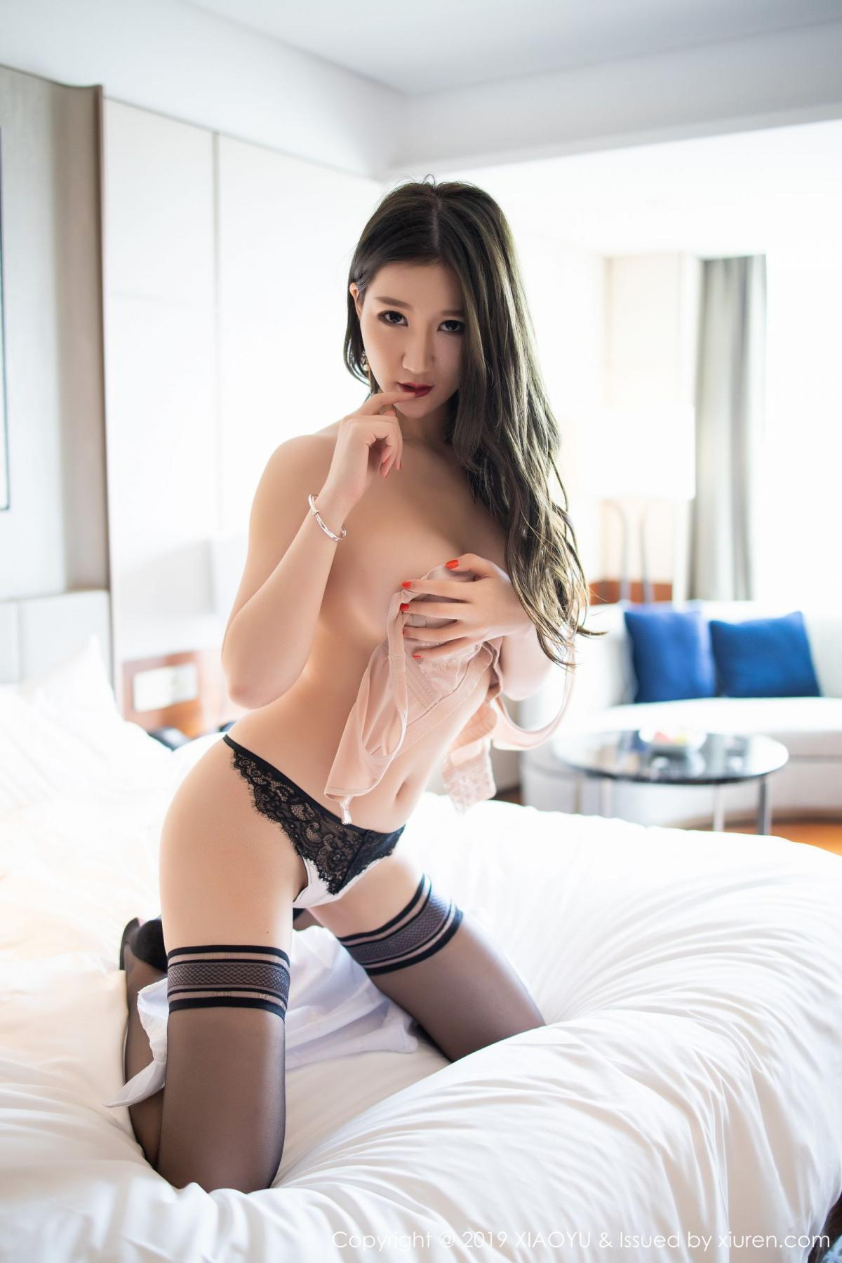 [XiaoYu] Vol.195 Xuan Zi 80P, Tall, Underwear, XiaoYu, Xuan Zi