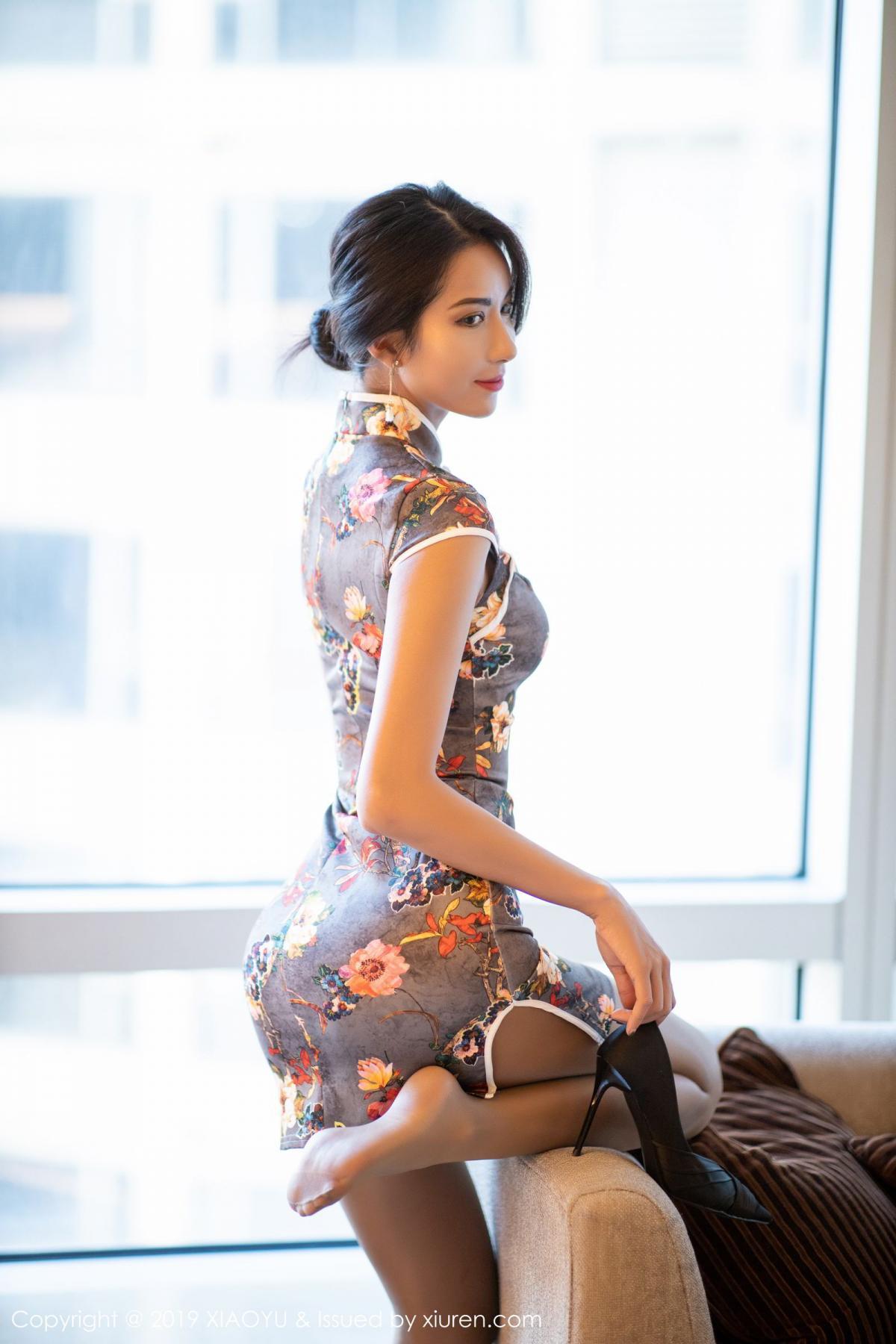 [XiaoYu] Vol.196 Chen Liang Ling 14P, Chen Liang Ling, Cheongsam, Temperament, Underwear, XiaoYu