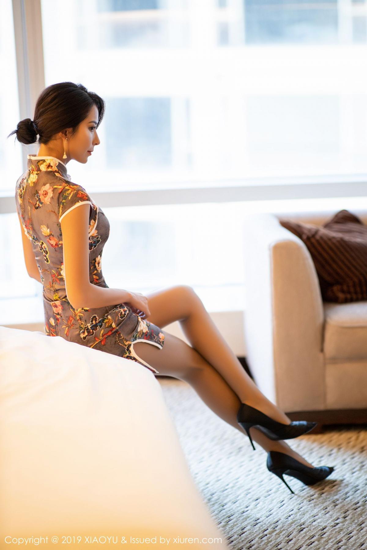 [XiaoYu] Vol.196 Chen Liang Ling 31P, Chen Liang Ling, Cheongsam, Temperament, Underwear, XiaoYu