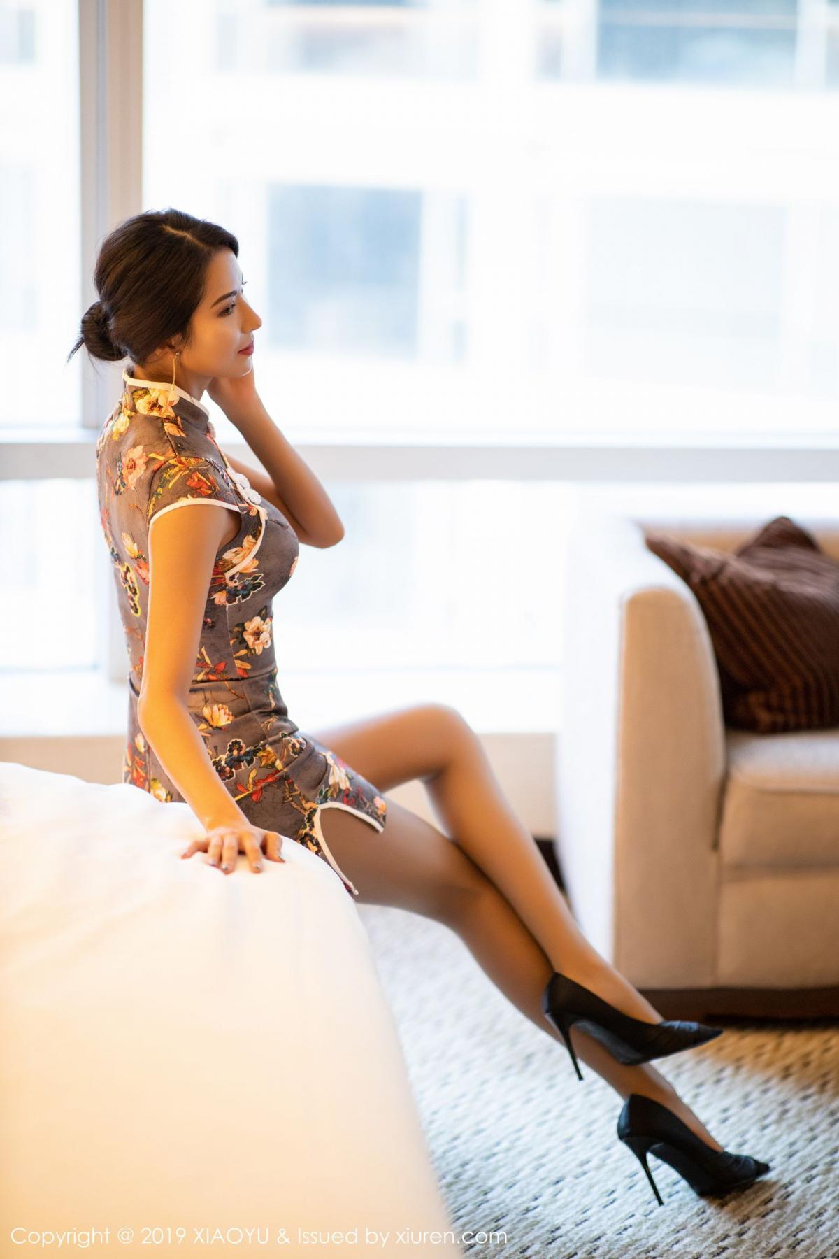 [XiaoYu] Vol.196 Chen Liang Ling 32P, Chen Liang Ling, Cheongsam, Temperament, Underwear, XiaoYu