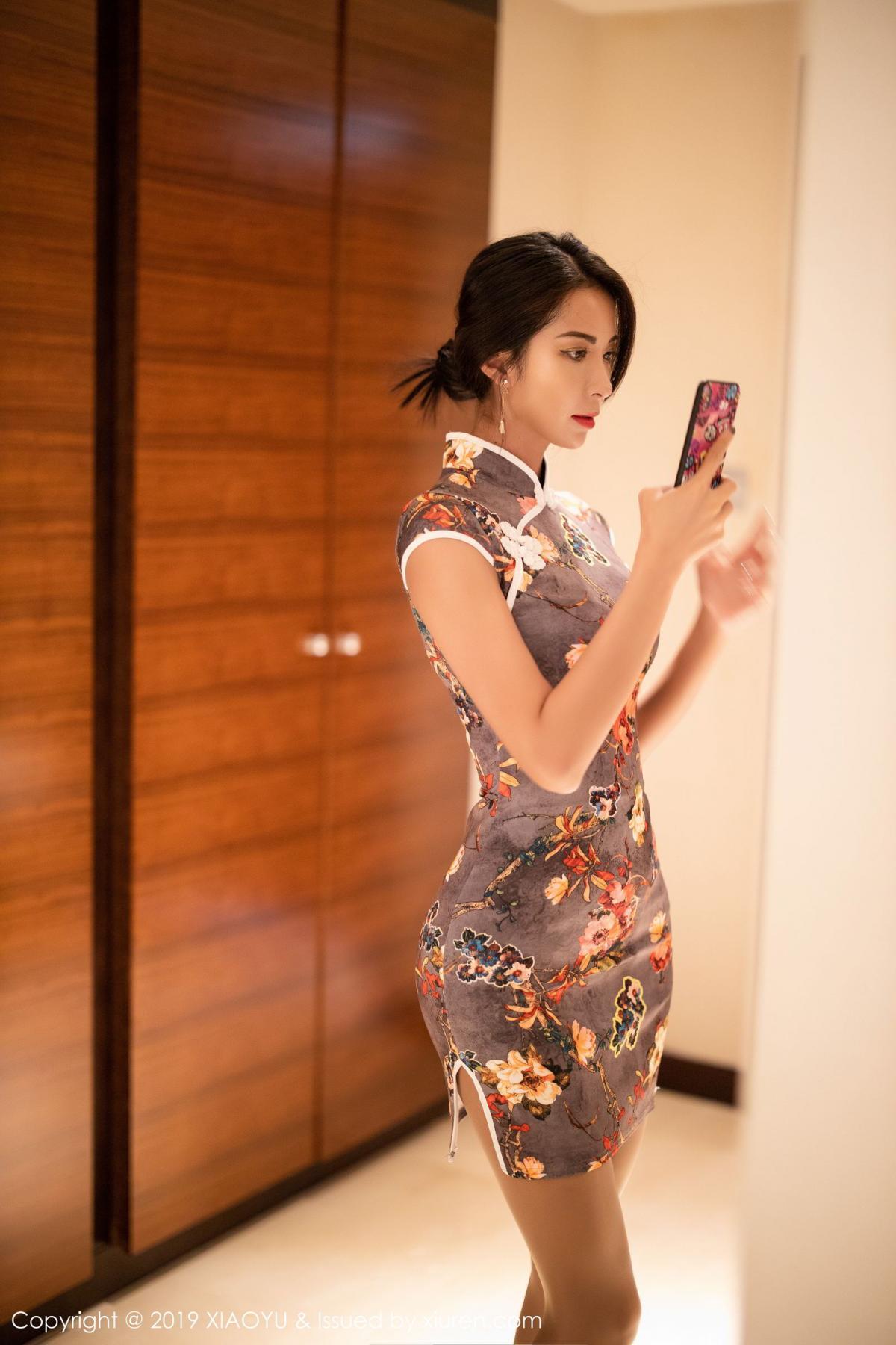 [XiaoYu] Vol.196 Chen Liang Ling 38P, Chen Liang Ling, Cheongsam, Temperament, Underwear, XiaoYu